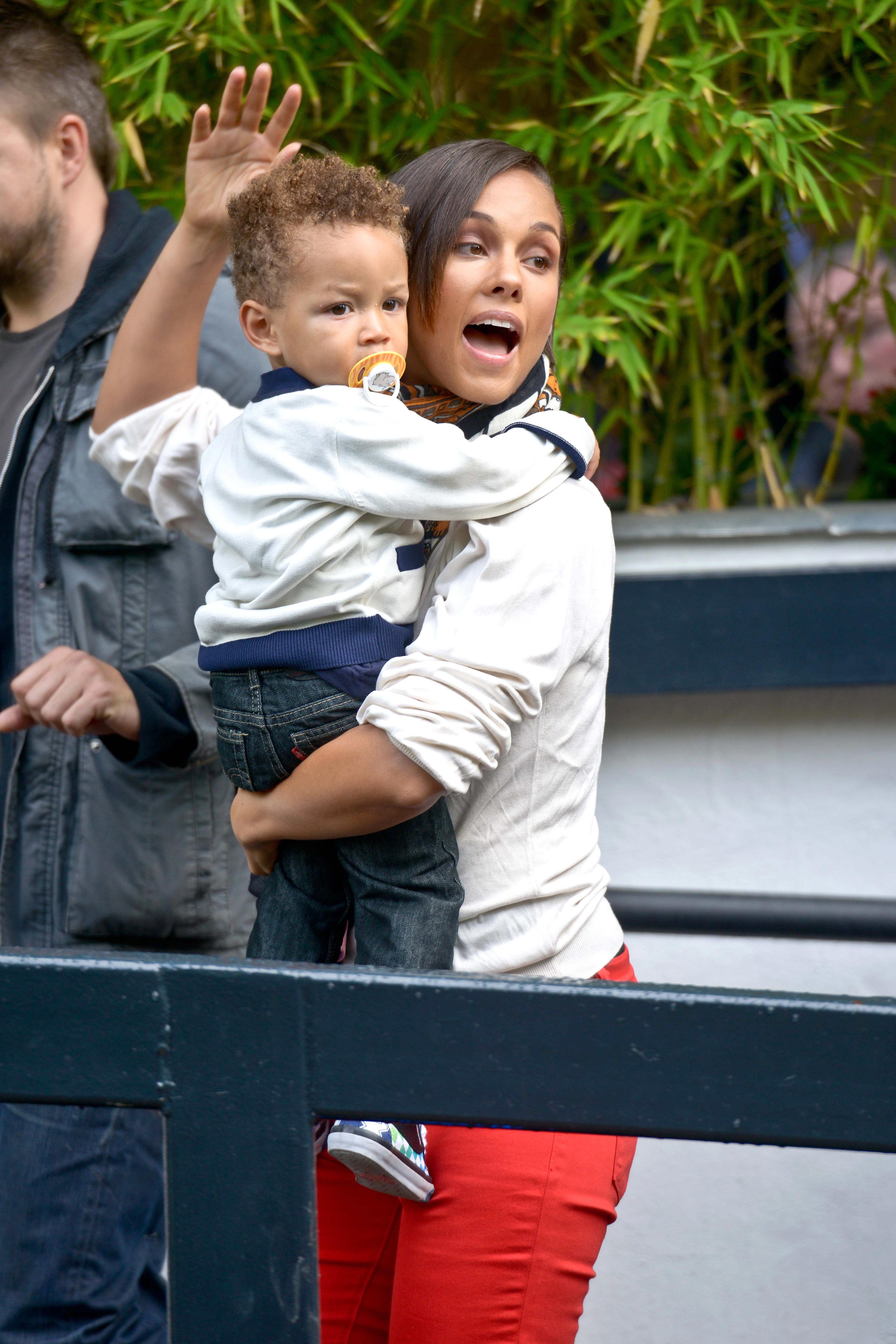 Alicia Keys Egypt son