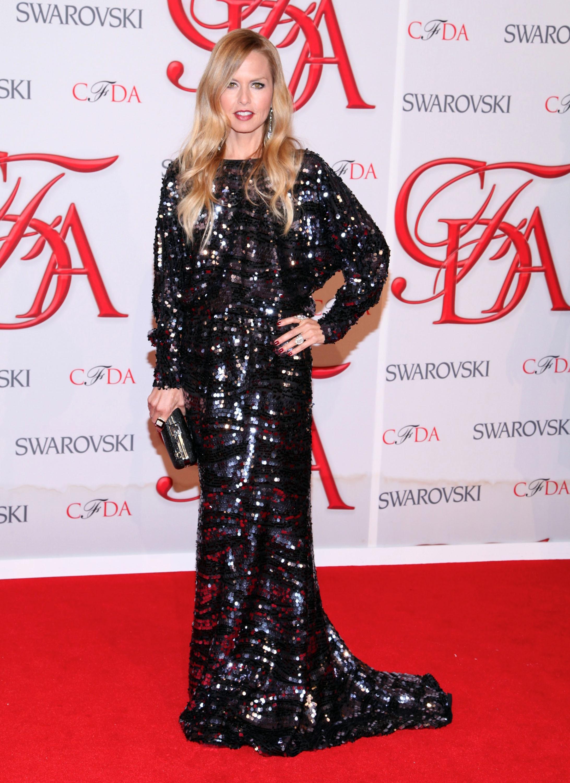 Rachel Zoe balck sparkly gown