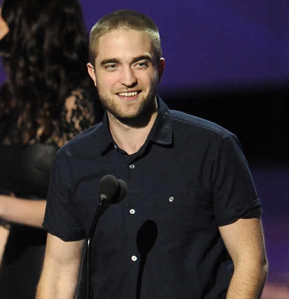 Robert Pattinson bald