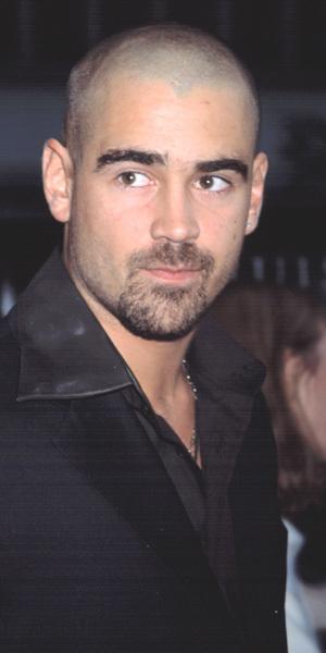 Colin Farrell bald