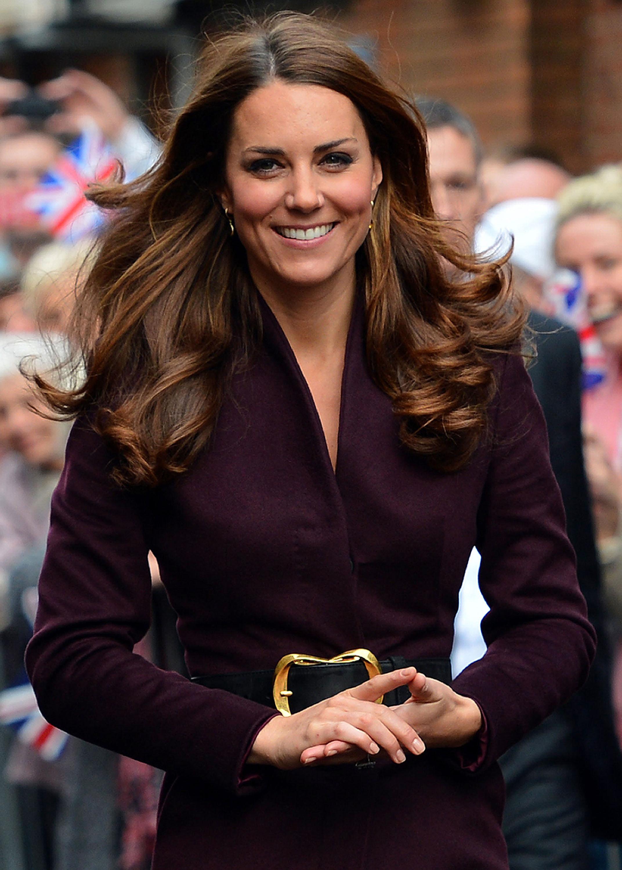 Duchess Kate beautiful hair