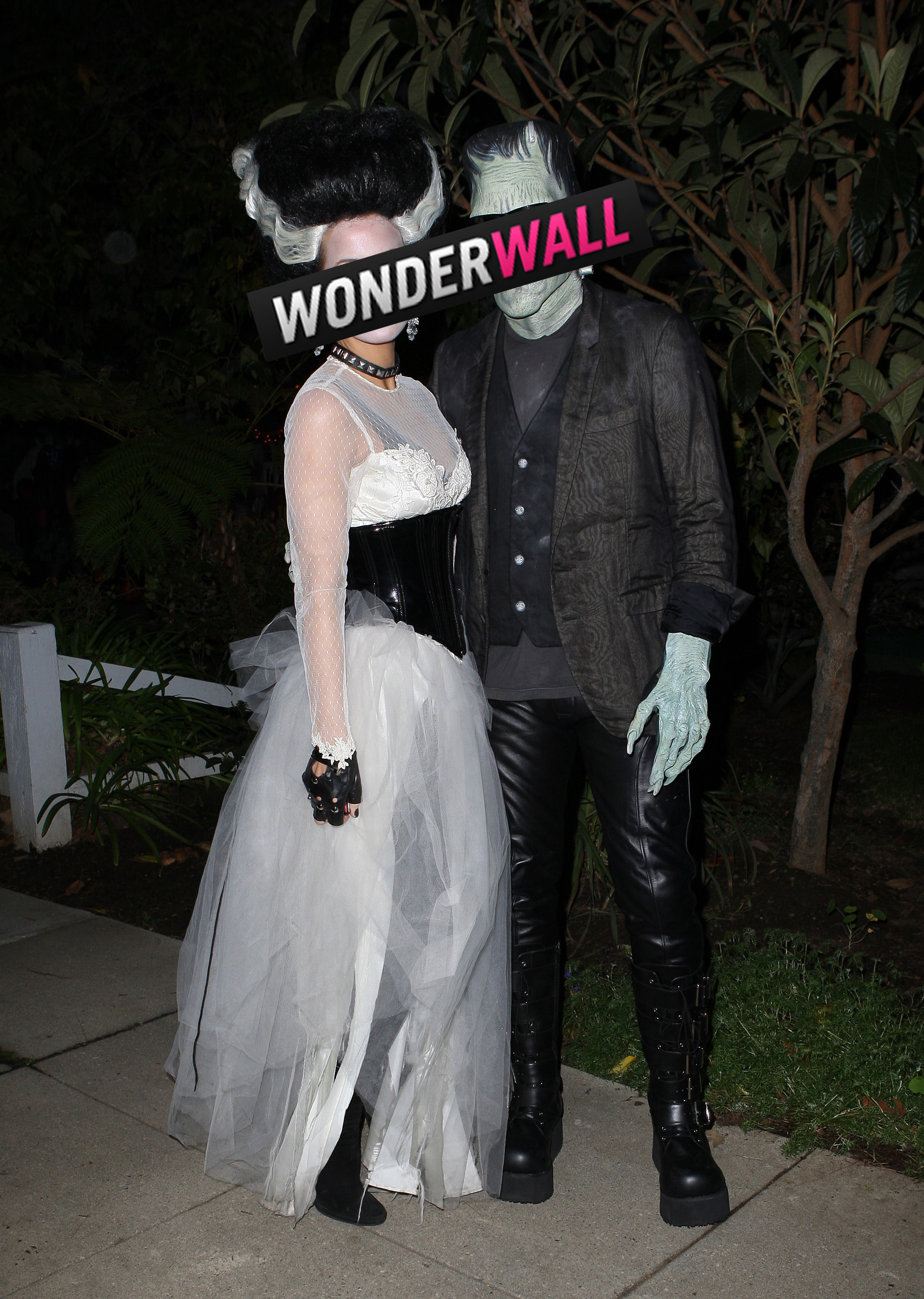 Kate Beckinsale Len Wiseman Halloween costumes