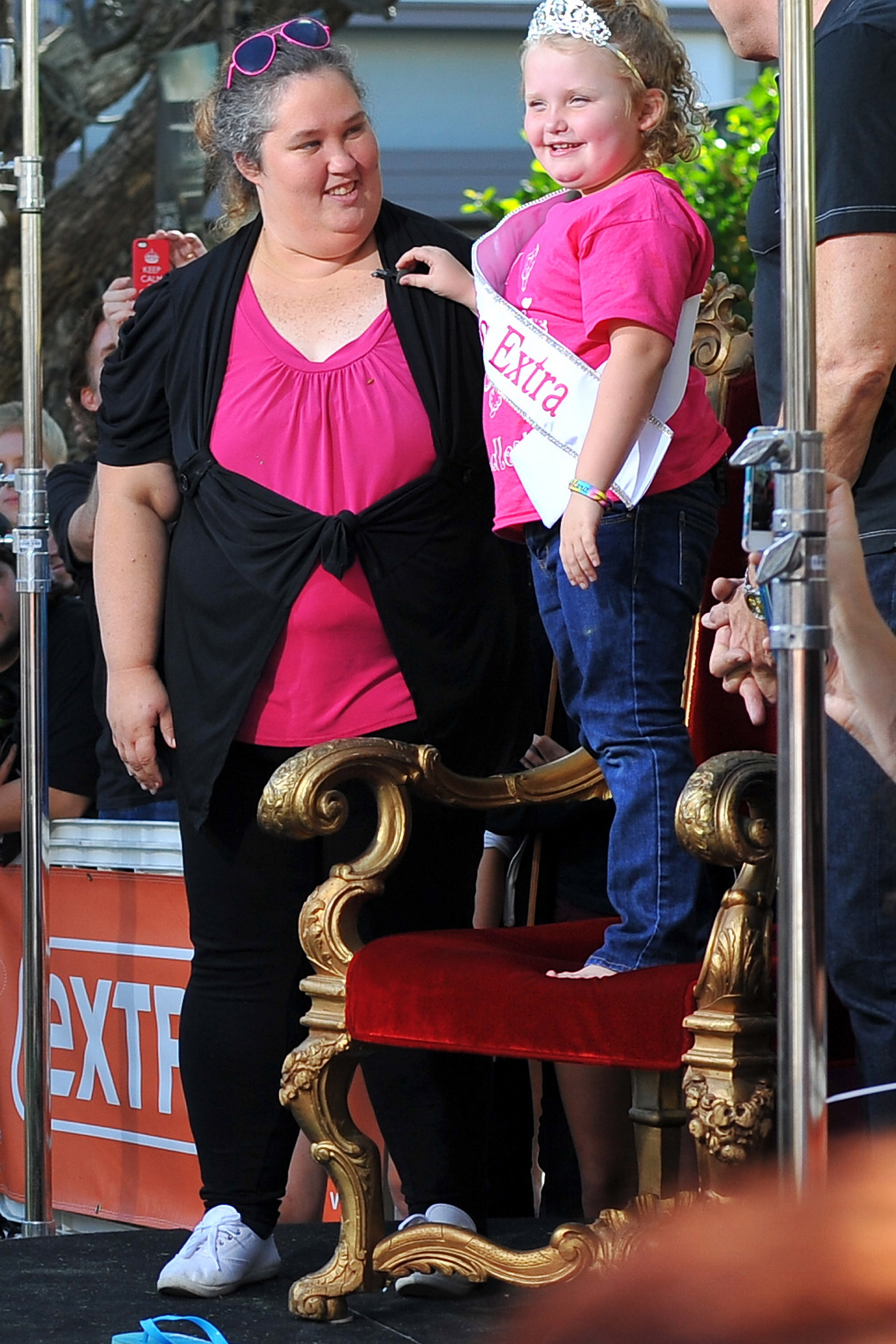 mama june honey boo boo gay glaad awards red carpet new look makeover