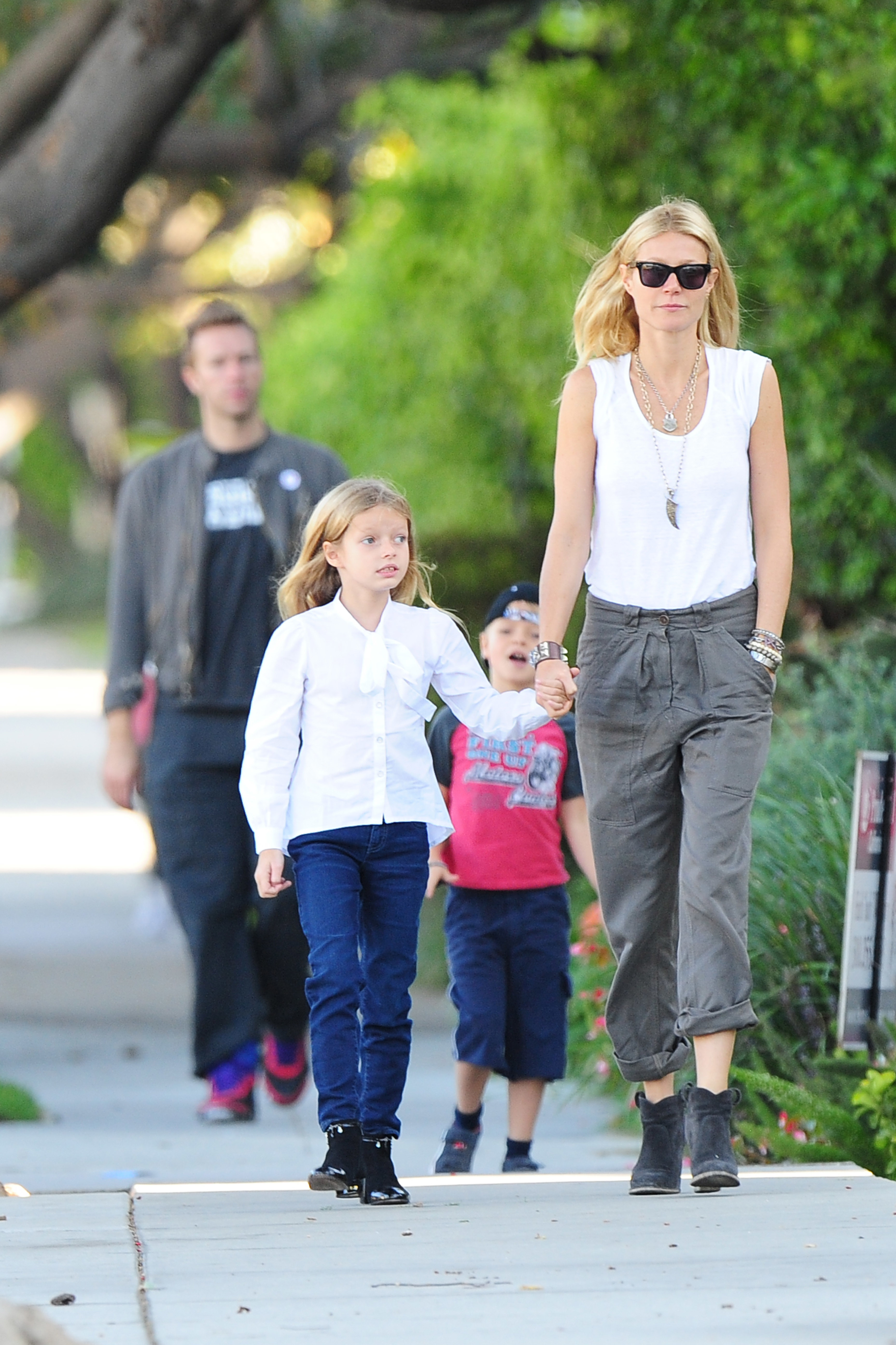 Gwyneth Paltrow doesn't lie to her kids