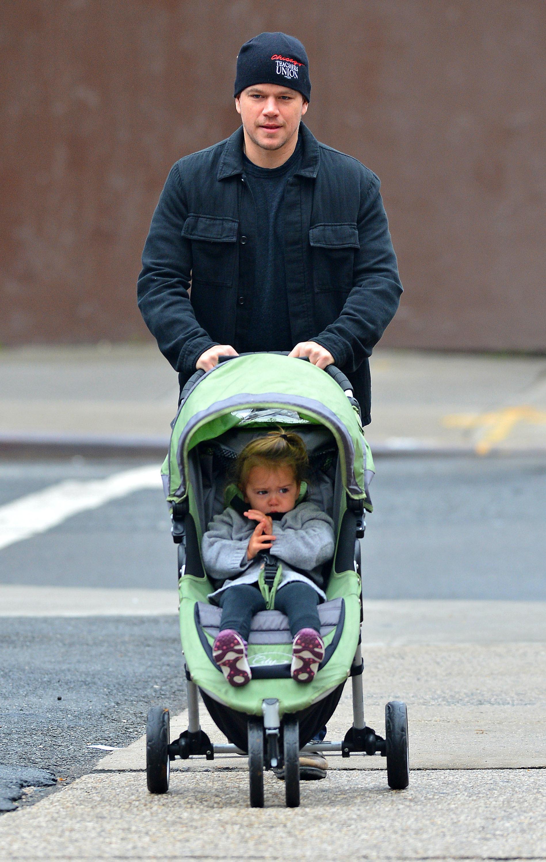 Matt Damon kids