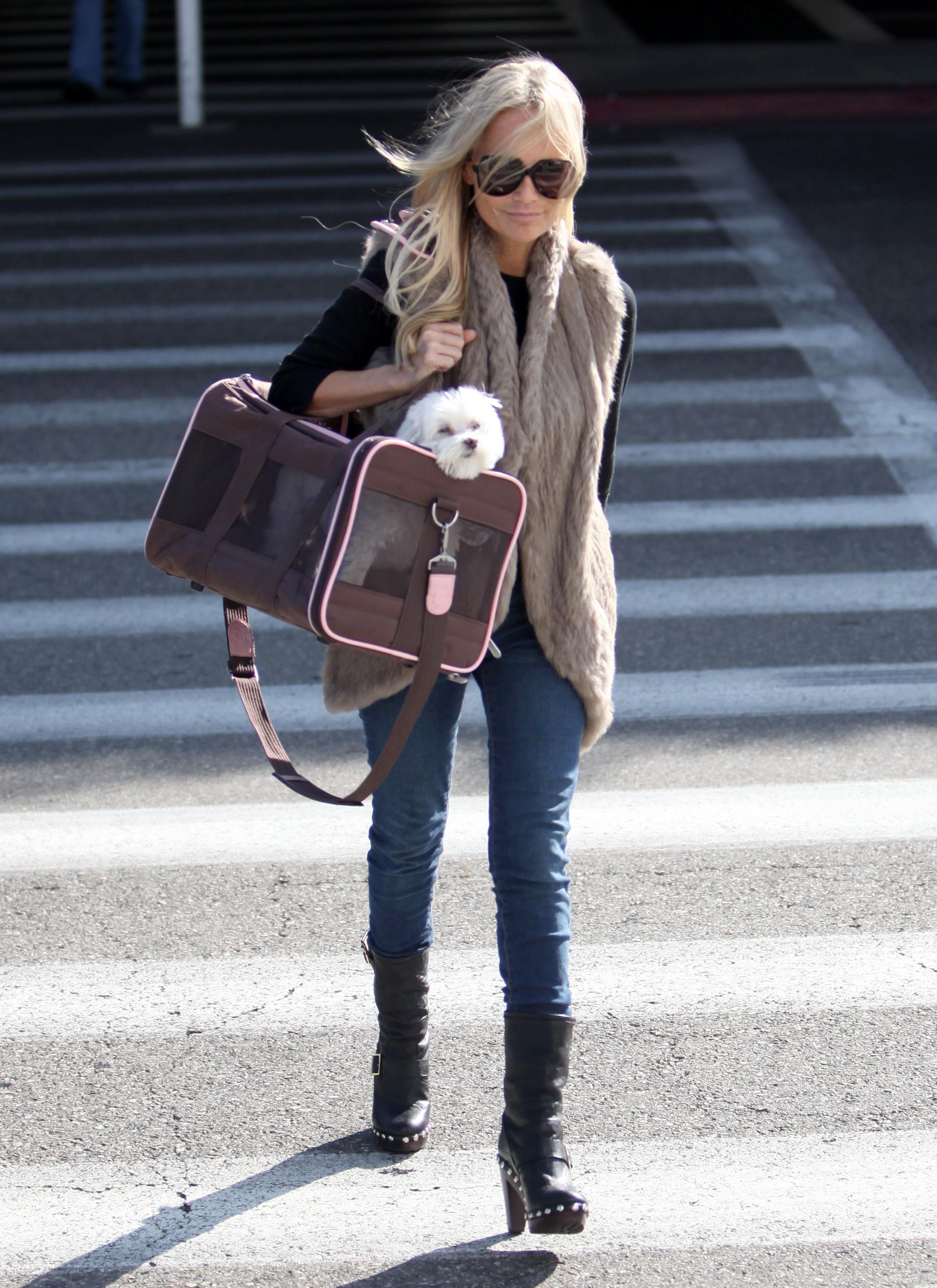 Kristin Chenoweth dog
