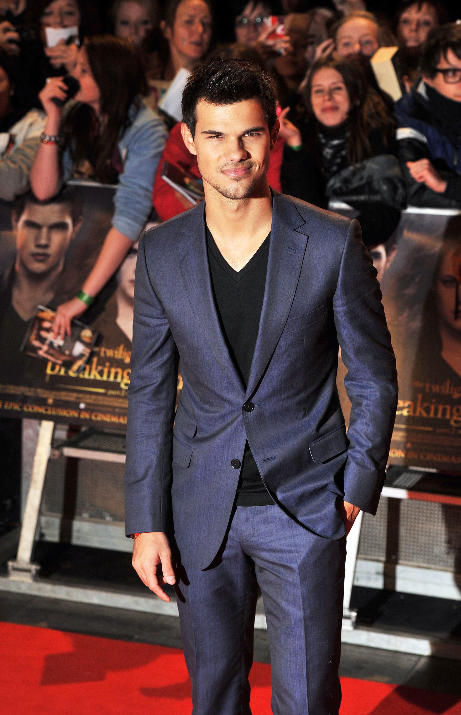 Taylor Lautner suit