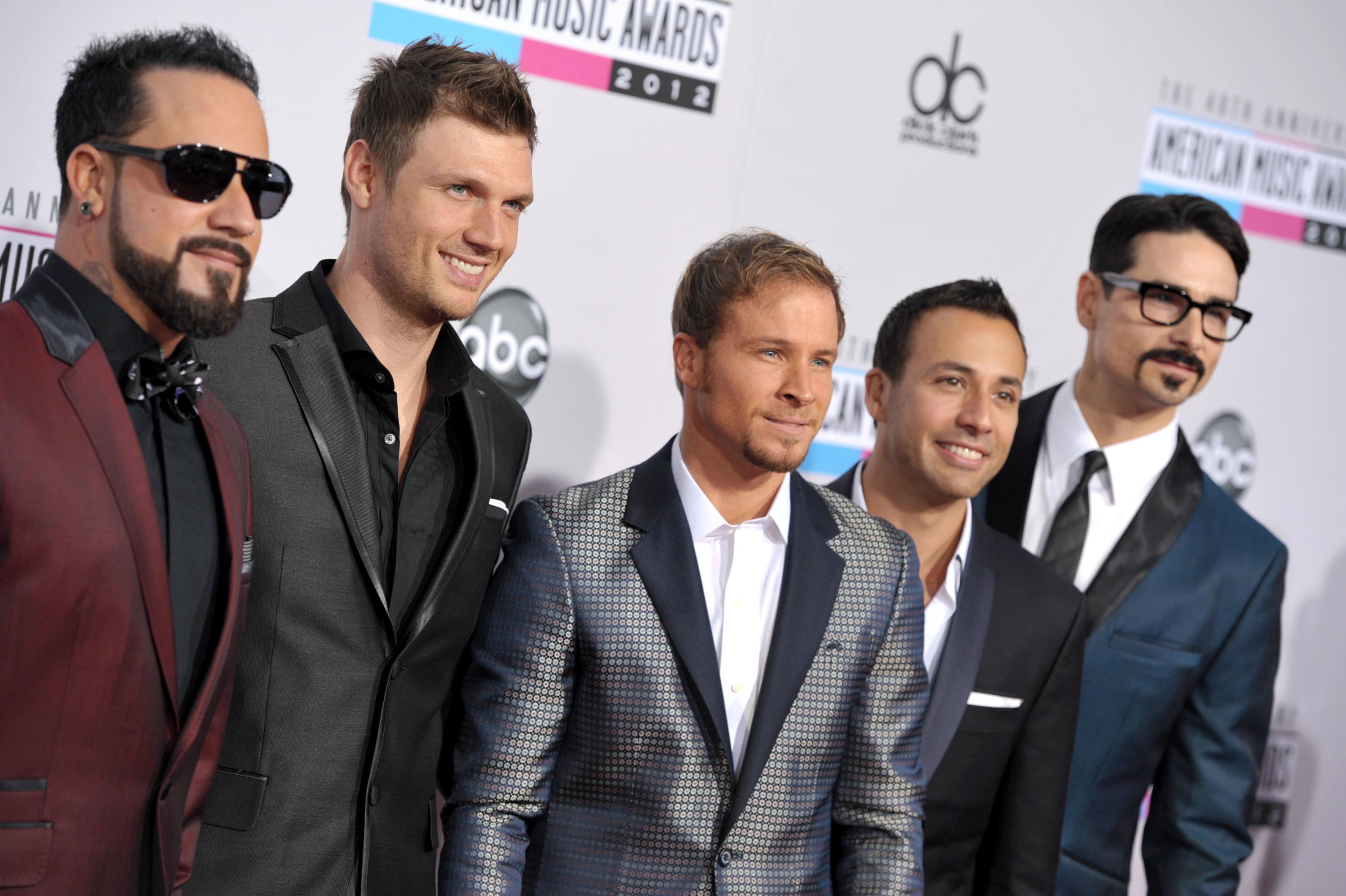 backstreet boys boy band pop music tour album nick carter kevin richardson