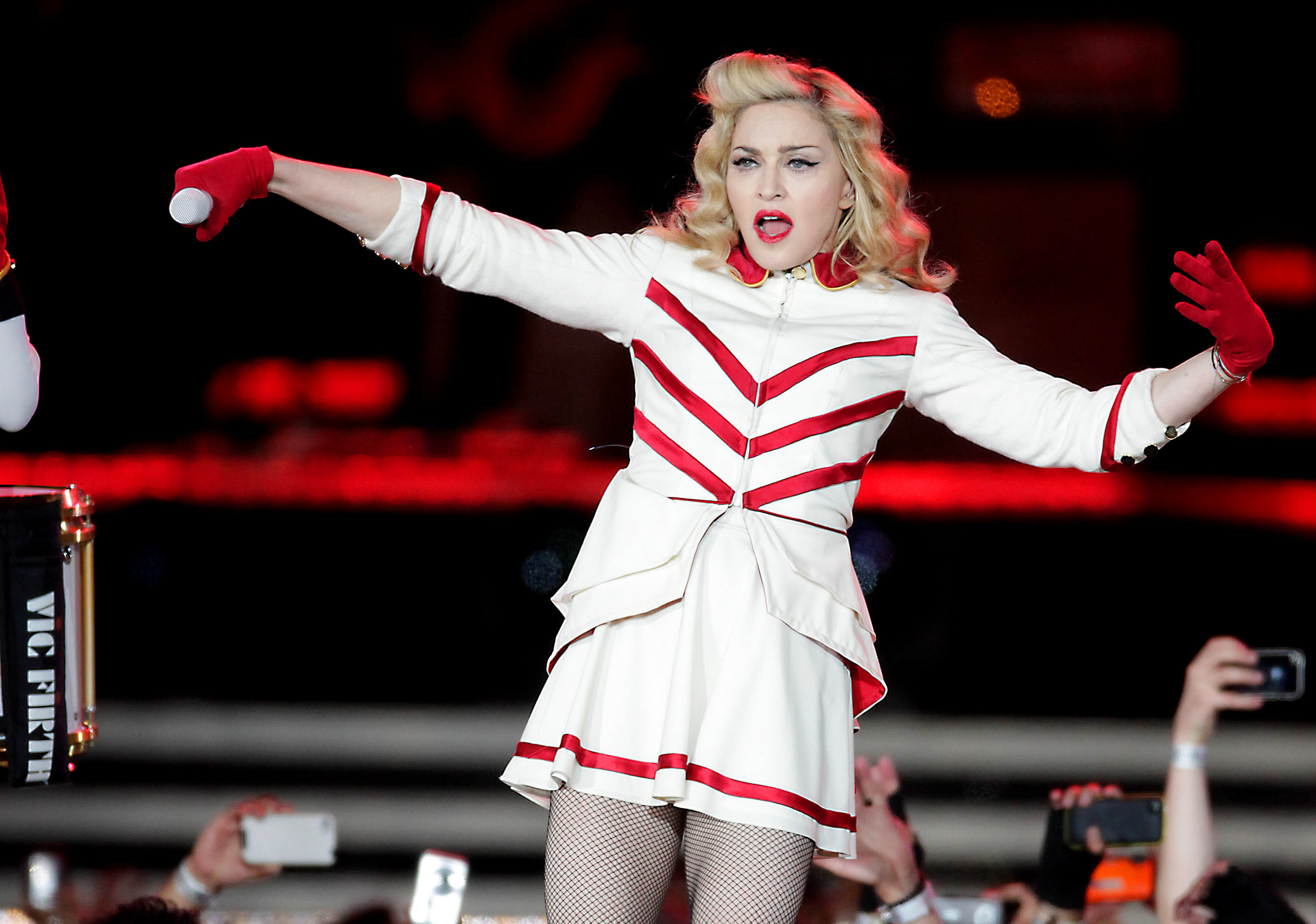 madonna hurricane sandy auction