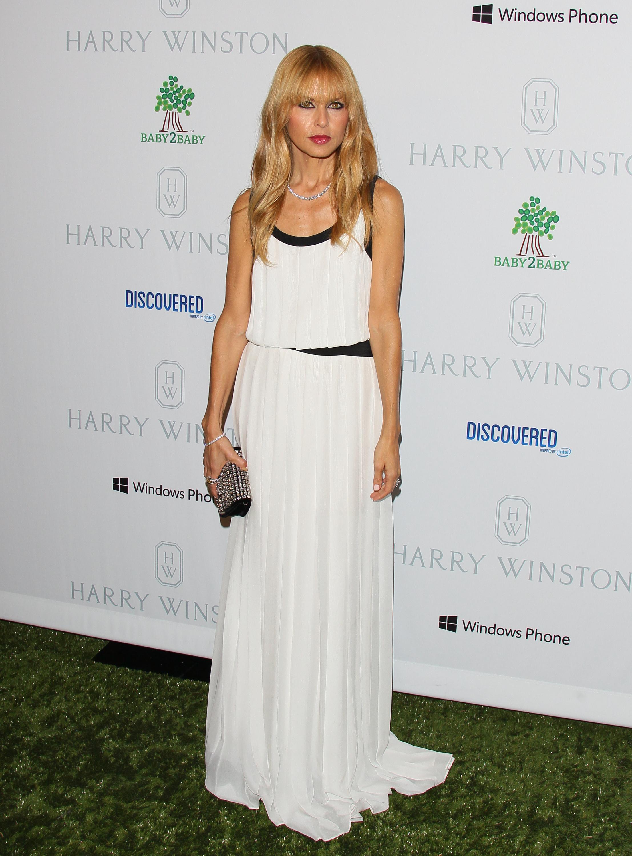 Rachel Zoe white sleeveless dress