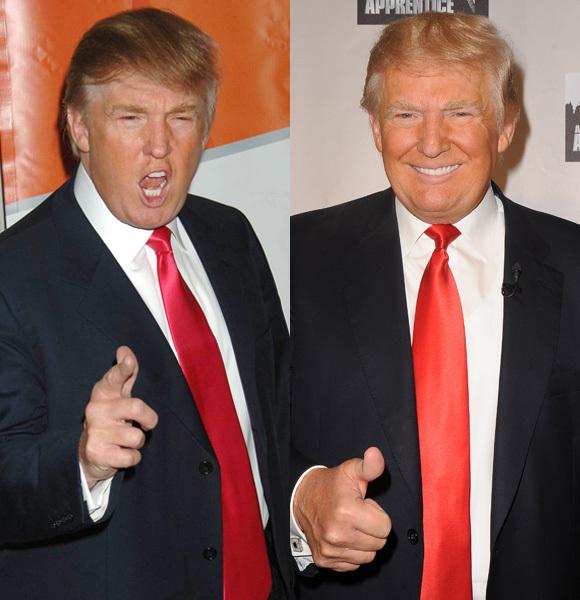 Donald Trump comb over