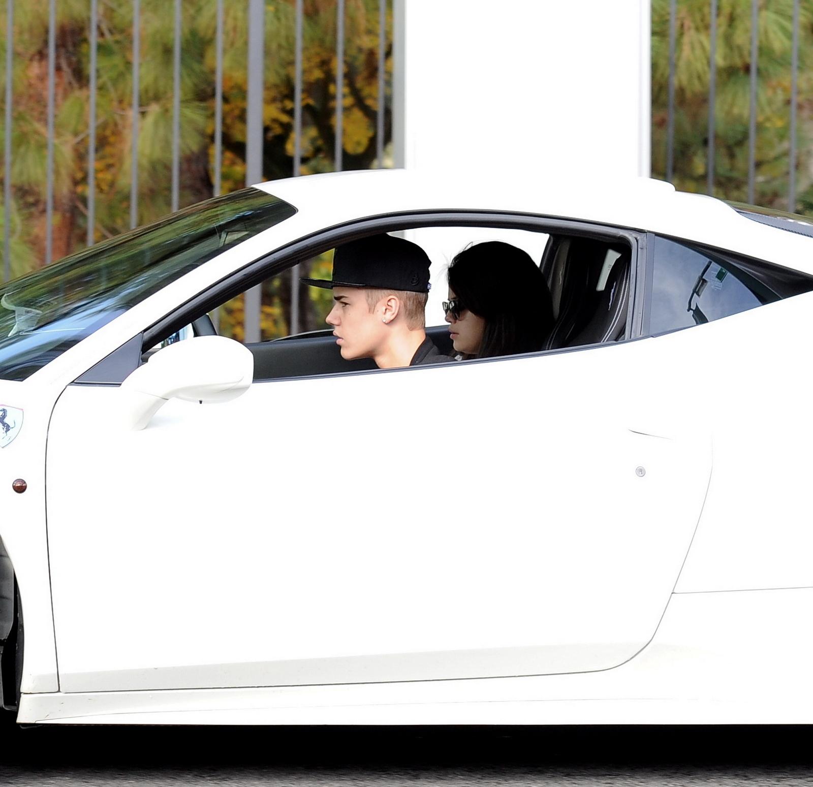 Justin bieber car