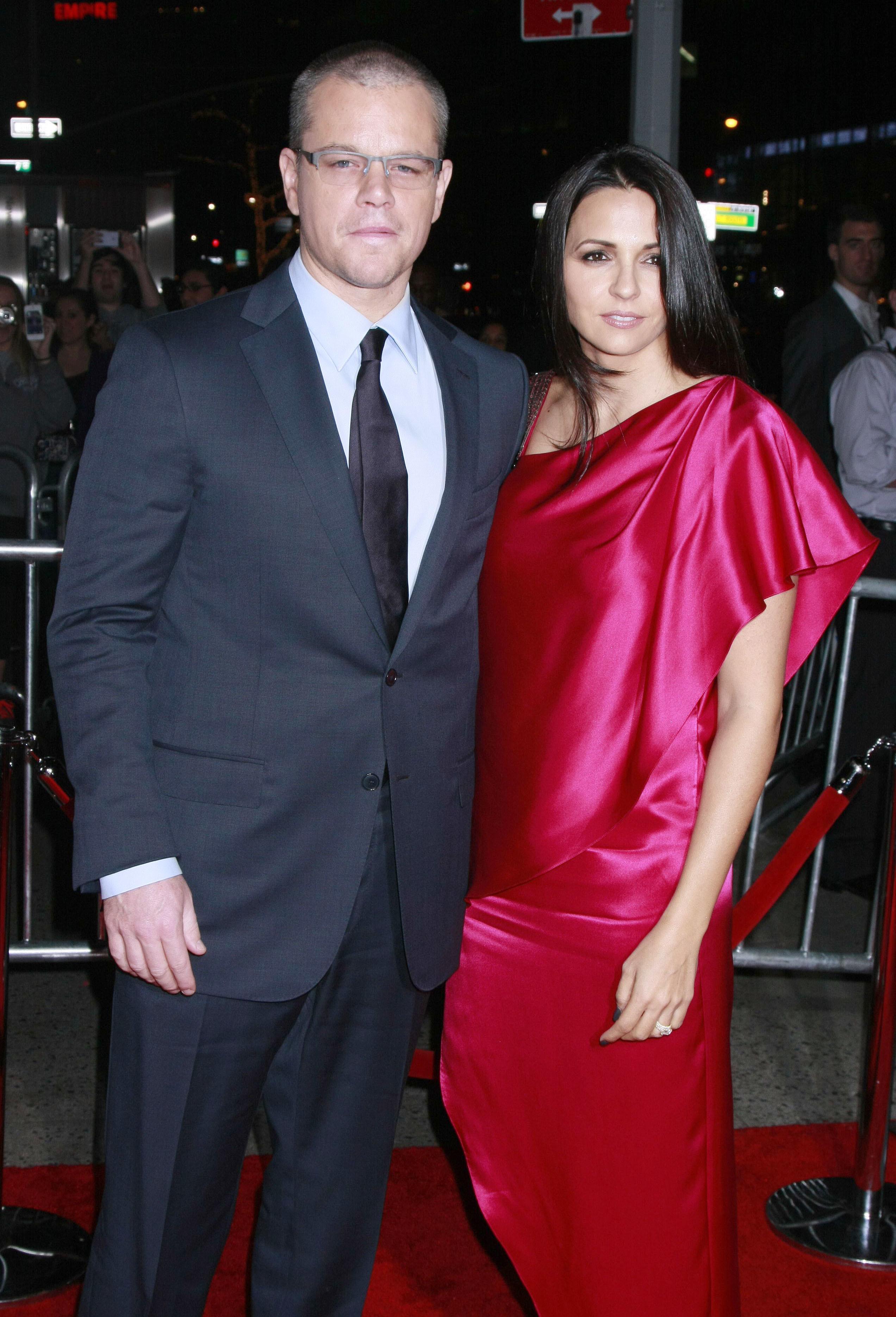 Matt Damon destination wedding
