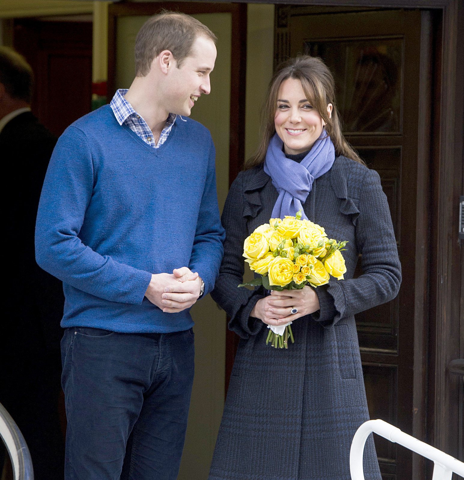 Duchess Kate Prince William happy couple