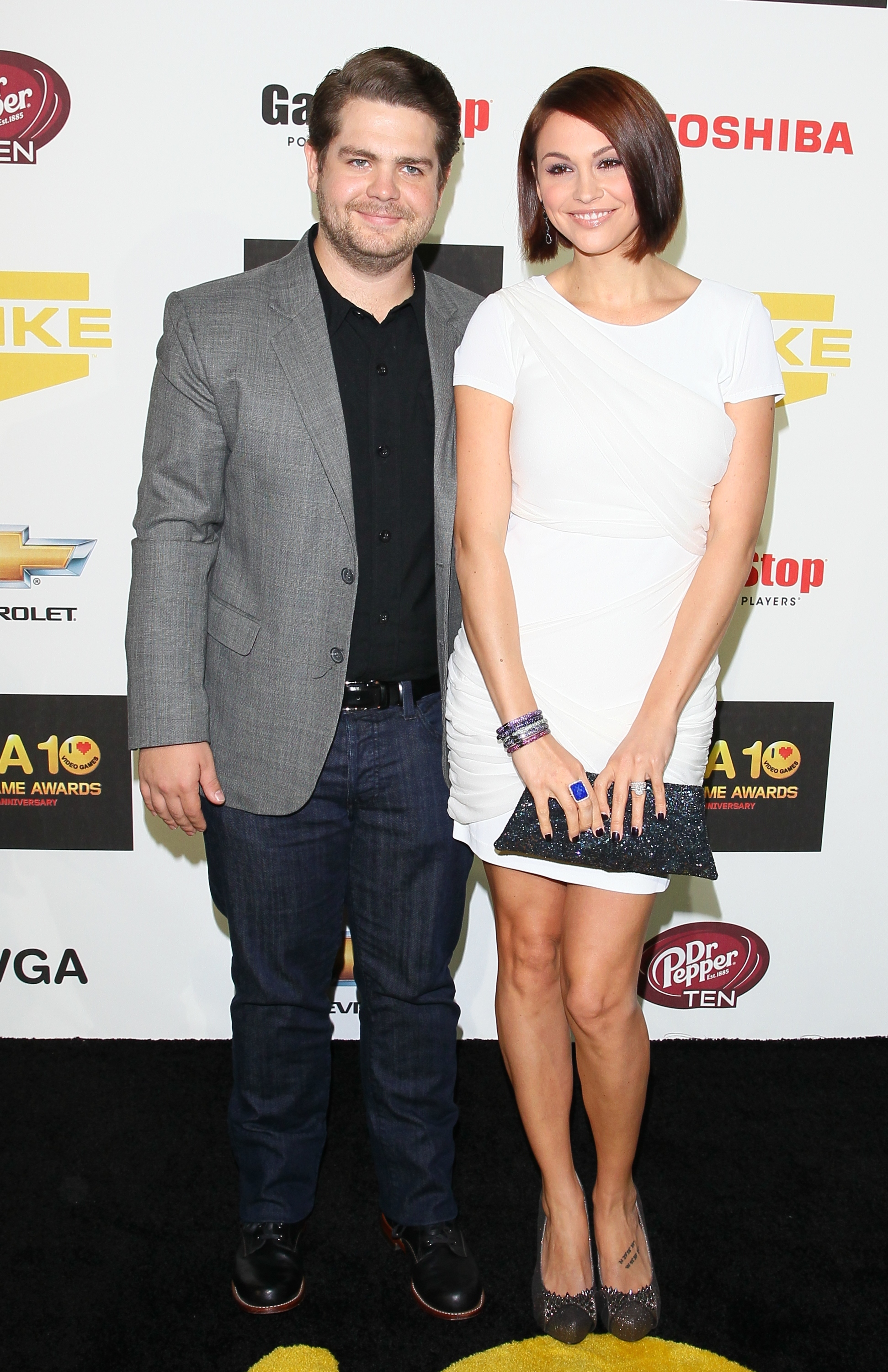 Jack Osbourne Lisa Stelly red carpet