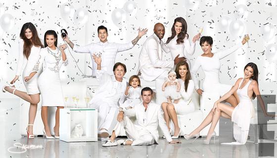 Kim Kardashian holiday card
