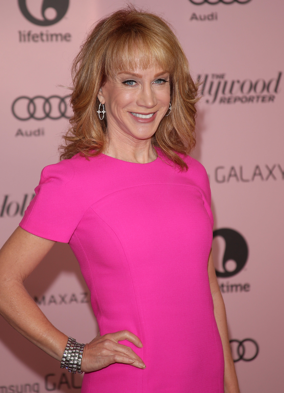 Kathy Griffin makeup