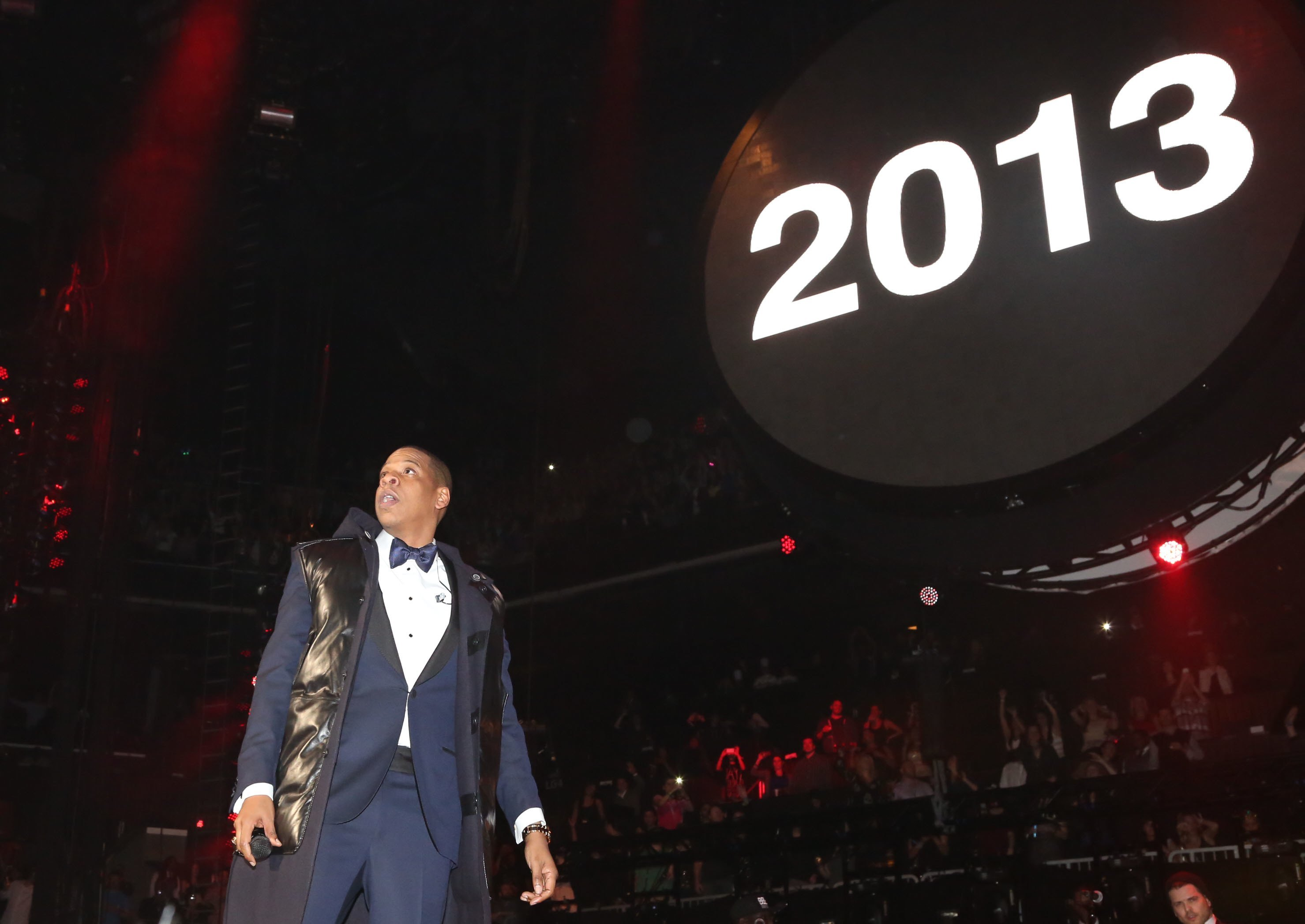 jay z rapper on stage concert performance new york