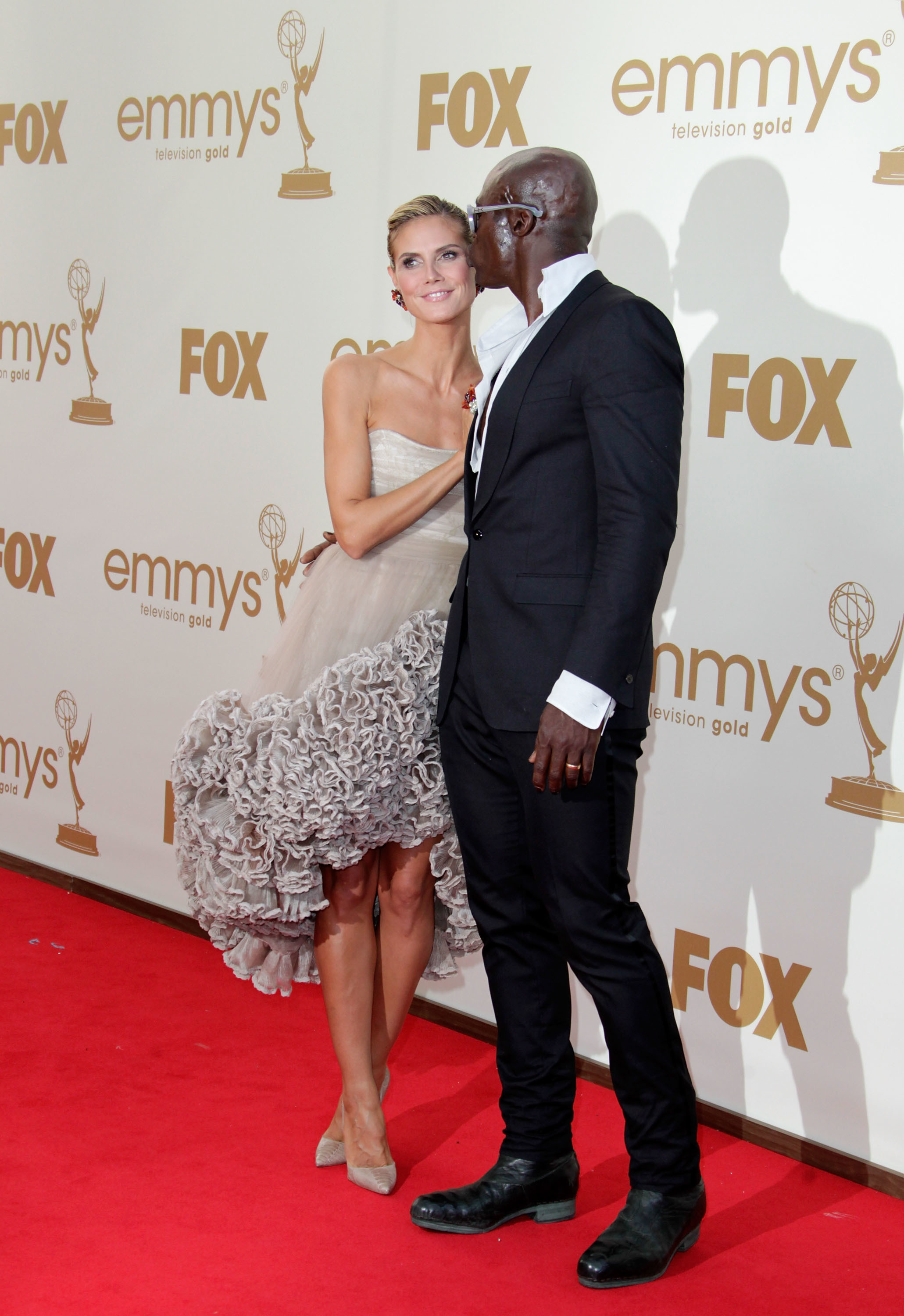 Heidi Klum reunites with Seal for dinner with their kids