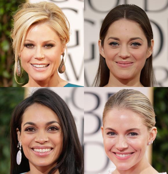 golden globes 2013 makeup trends