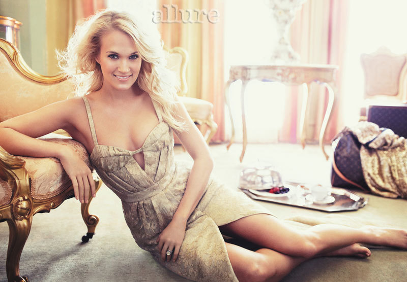 Carrie Underwood in Allure