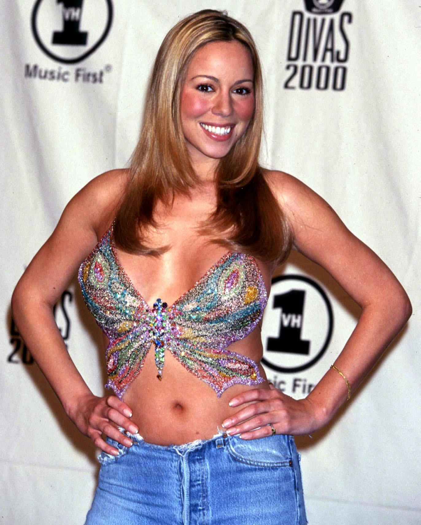 Mariah Carey butterfly
