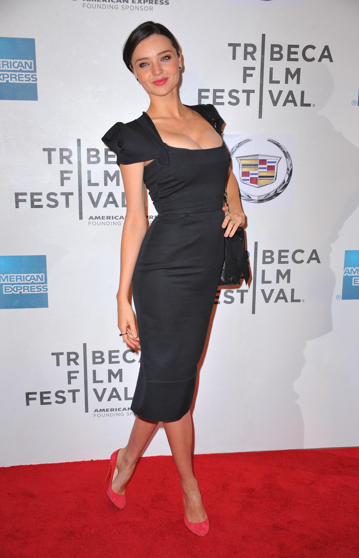 Miranda Kerr Alessandra Ambrosio little black dress
