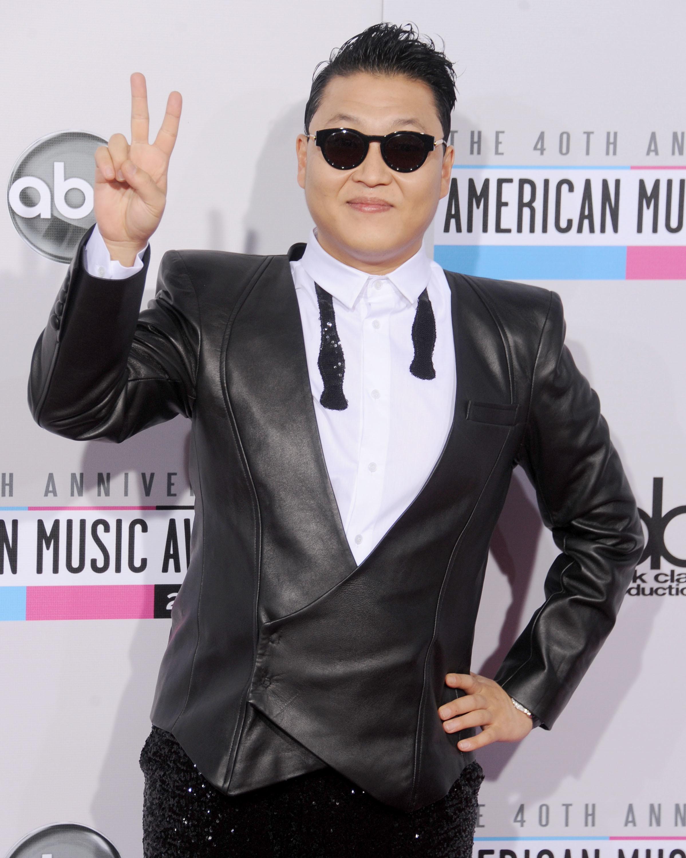 Psy web sensation