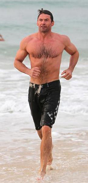 hugh jackman Shirtless male men celebrity hunks dudes