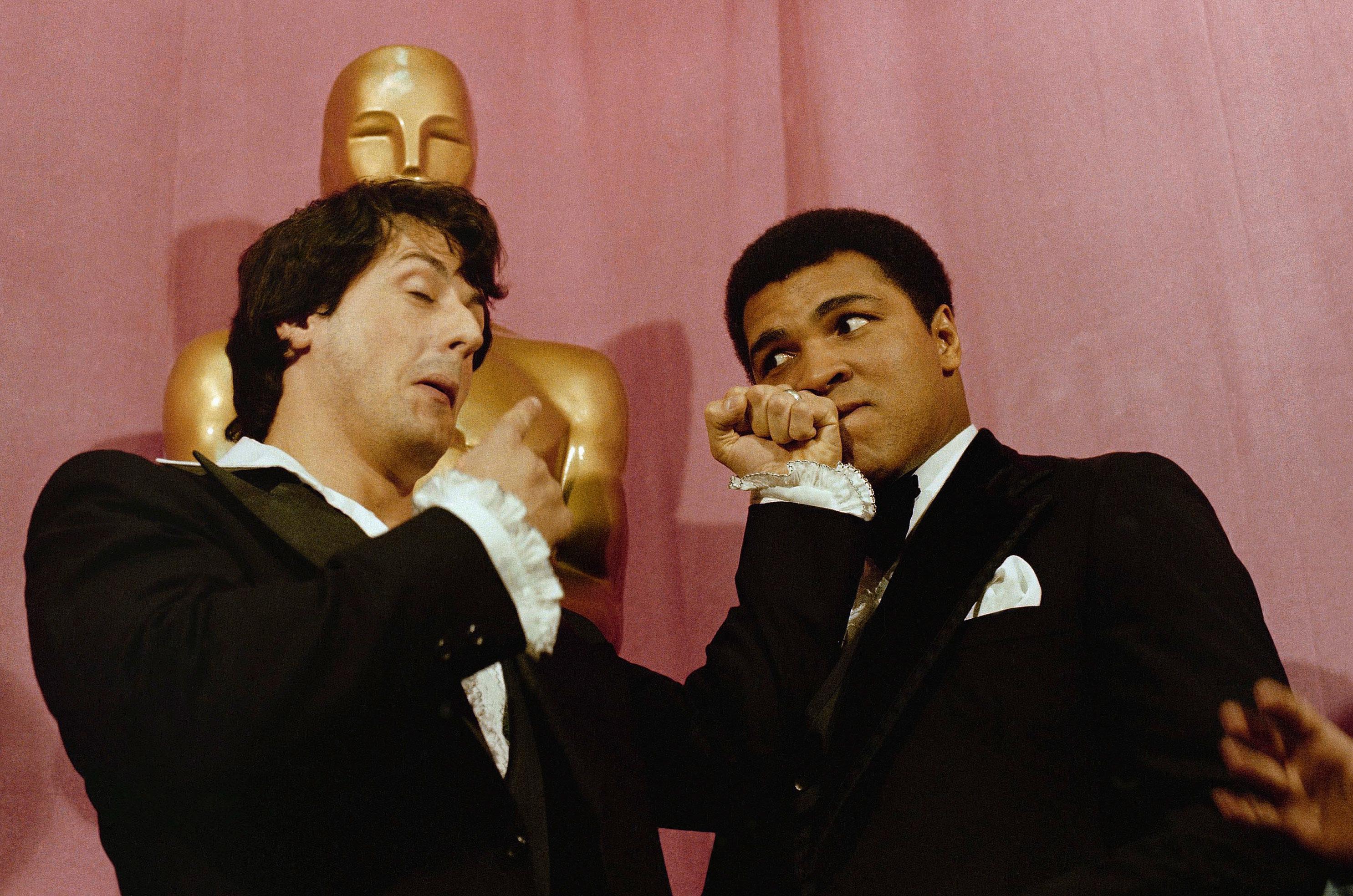 Sylvester Stallone Oscars 1976