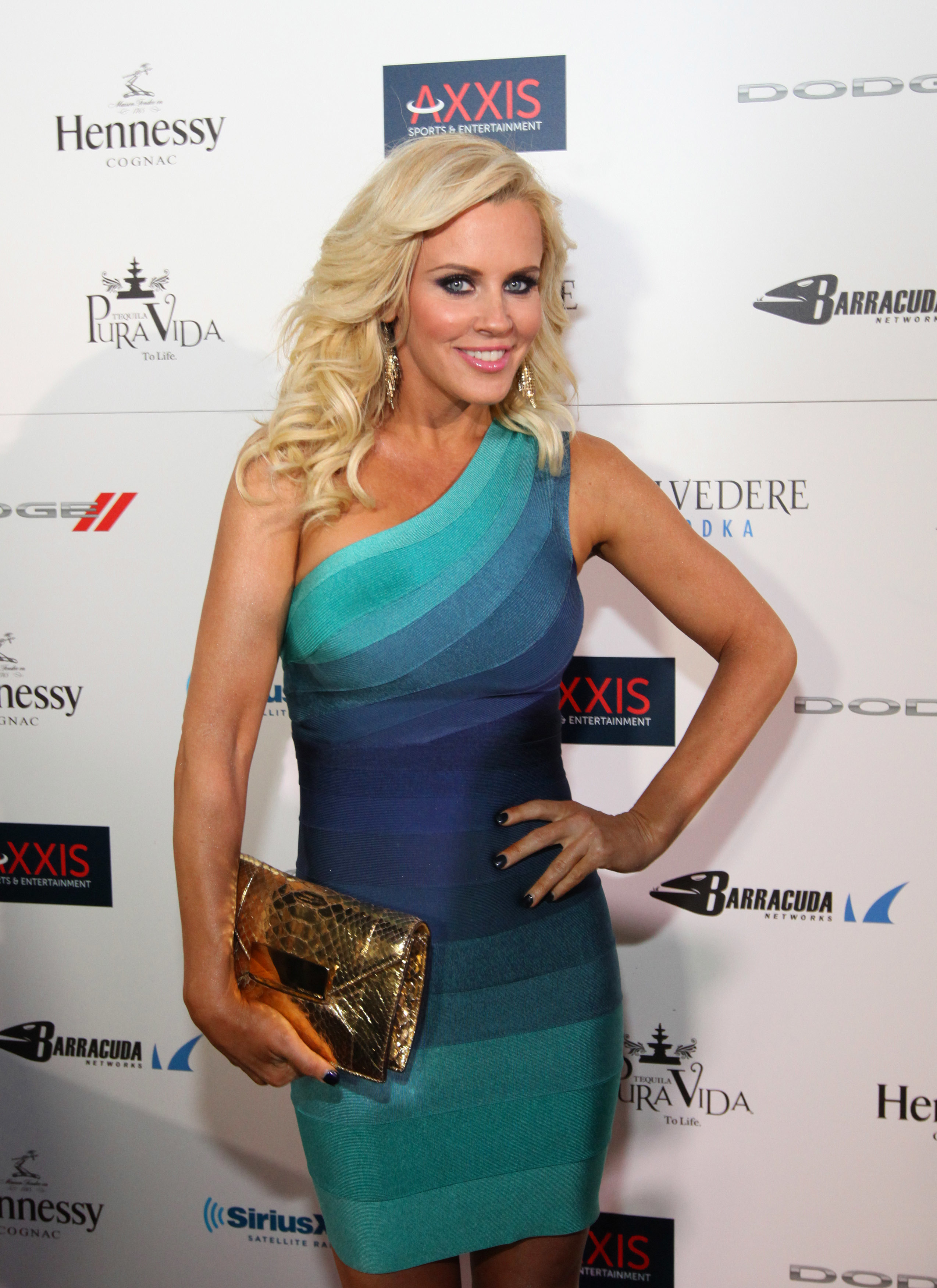 Jenny McCarthy at Belvedere Leather and Laces2