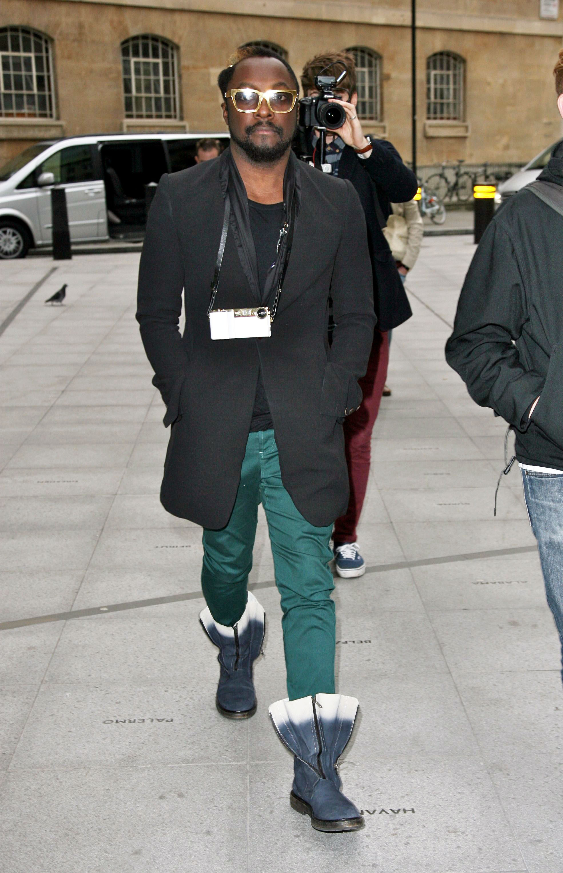 will.i.am emerald jeans ombre boots