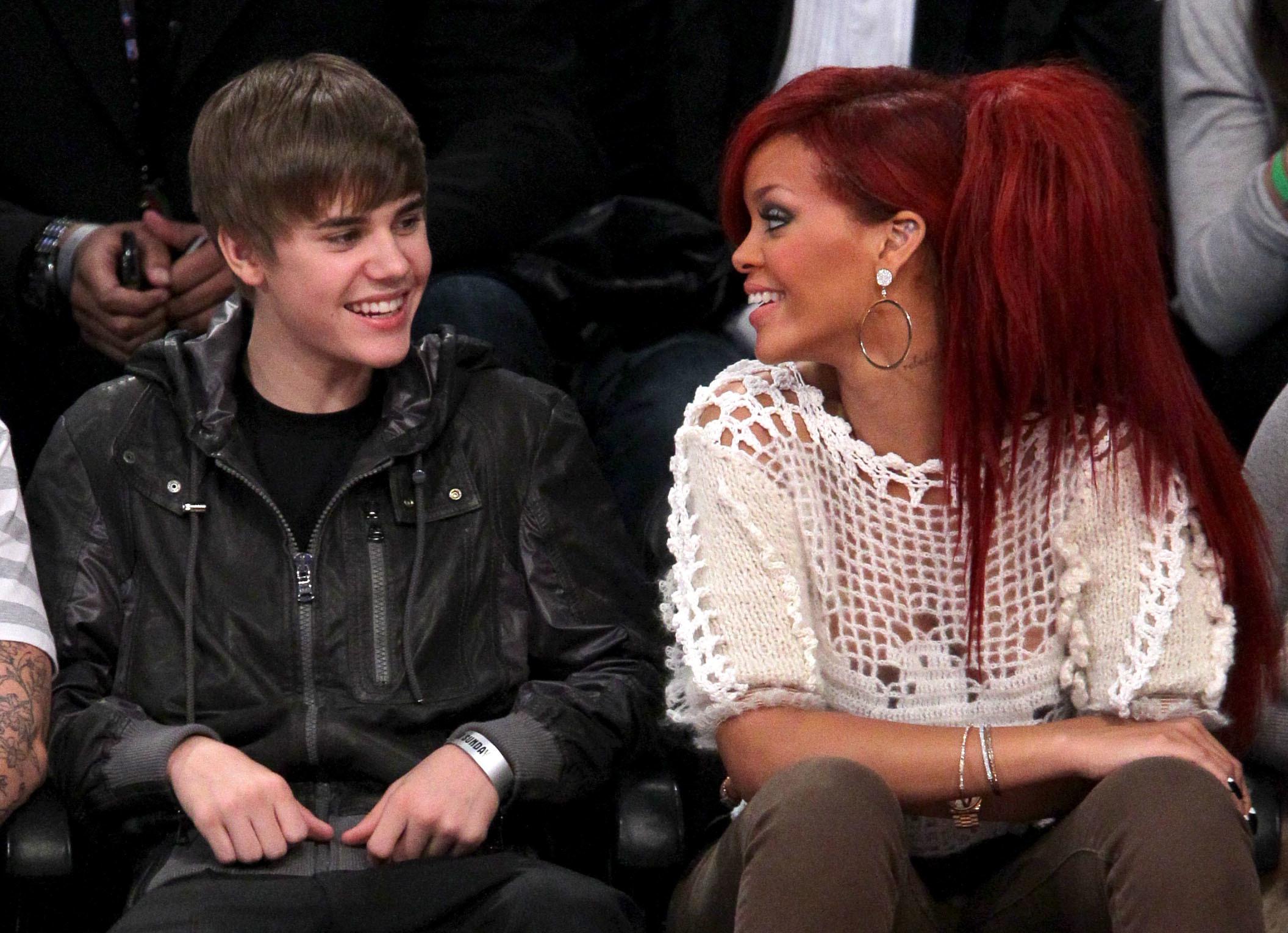 Rihanna Justin Bieber Selena Gomez affair Wonderwall gossip