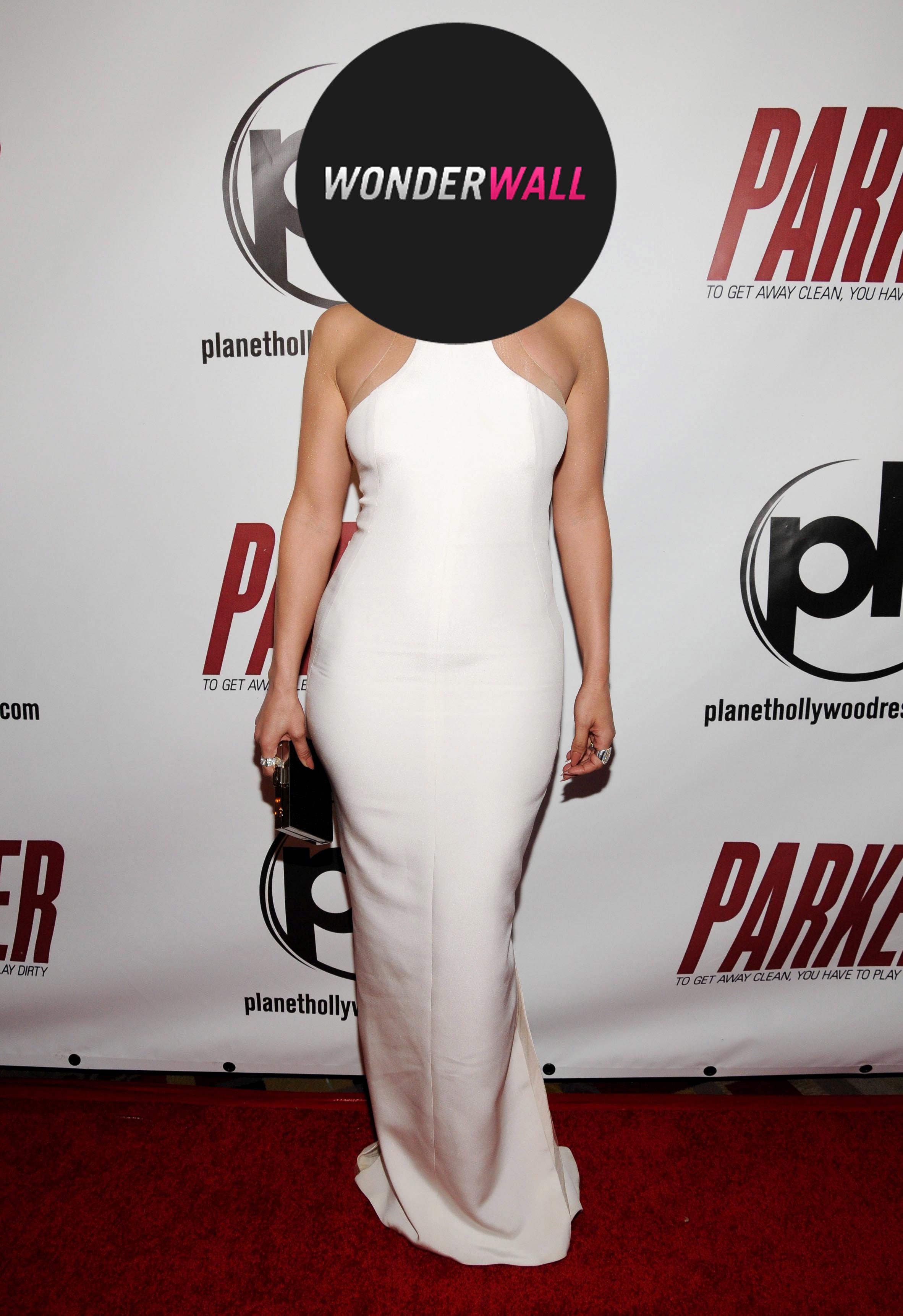 Jennifer Lopez White Dress