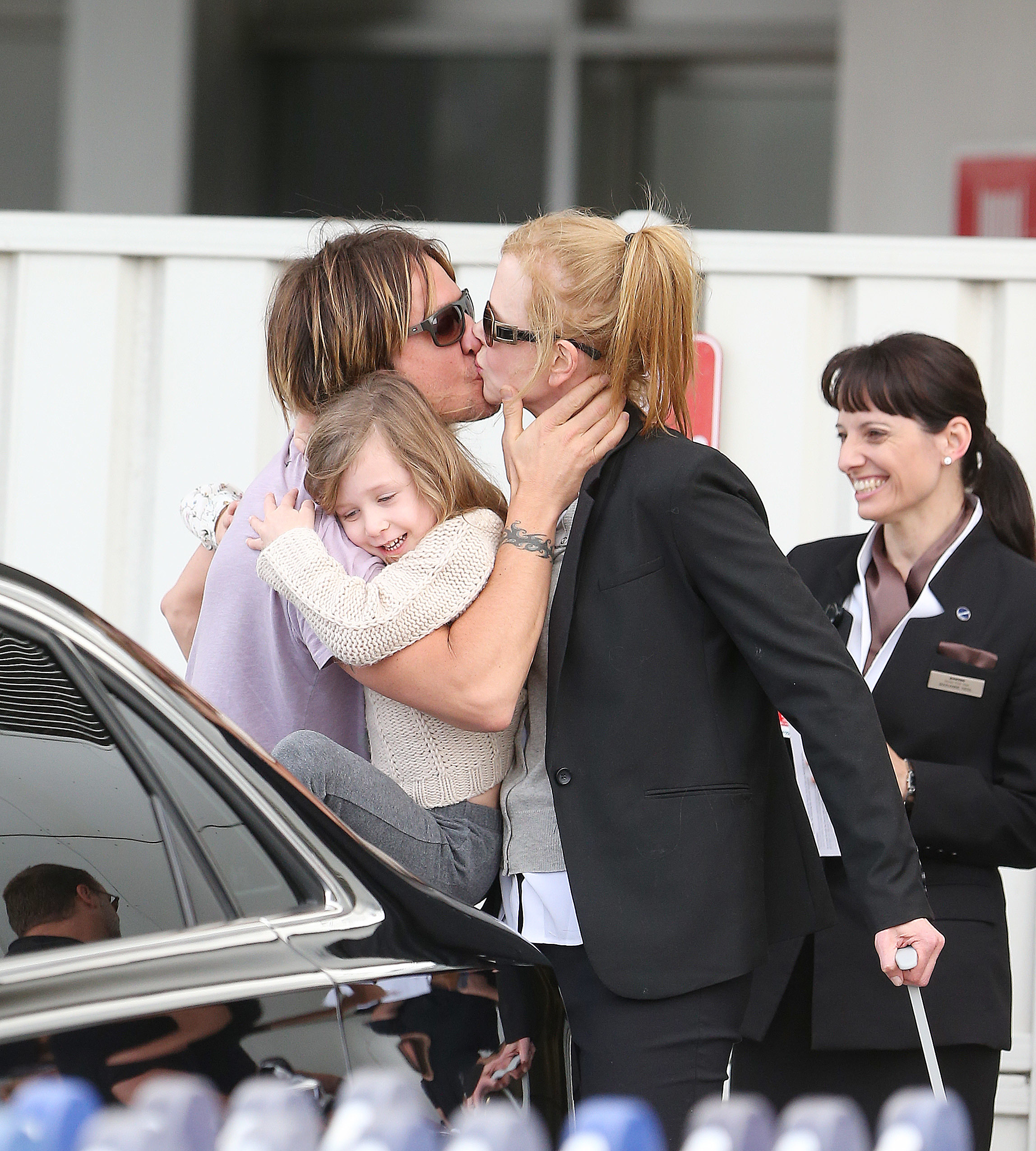 Nicole Kidman Keith Urban kiss