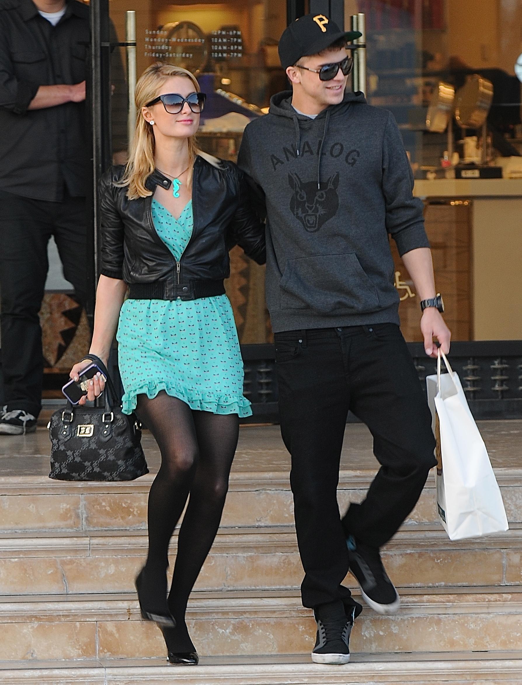 Paris Hilton River Viiperi model boyfriend spanish shirtless