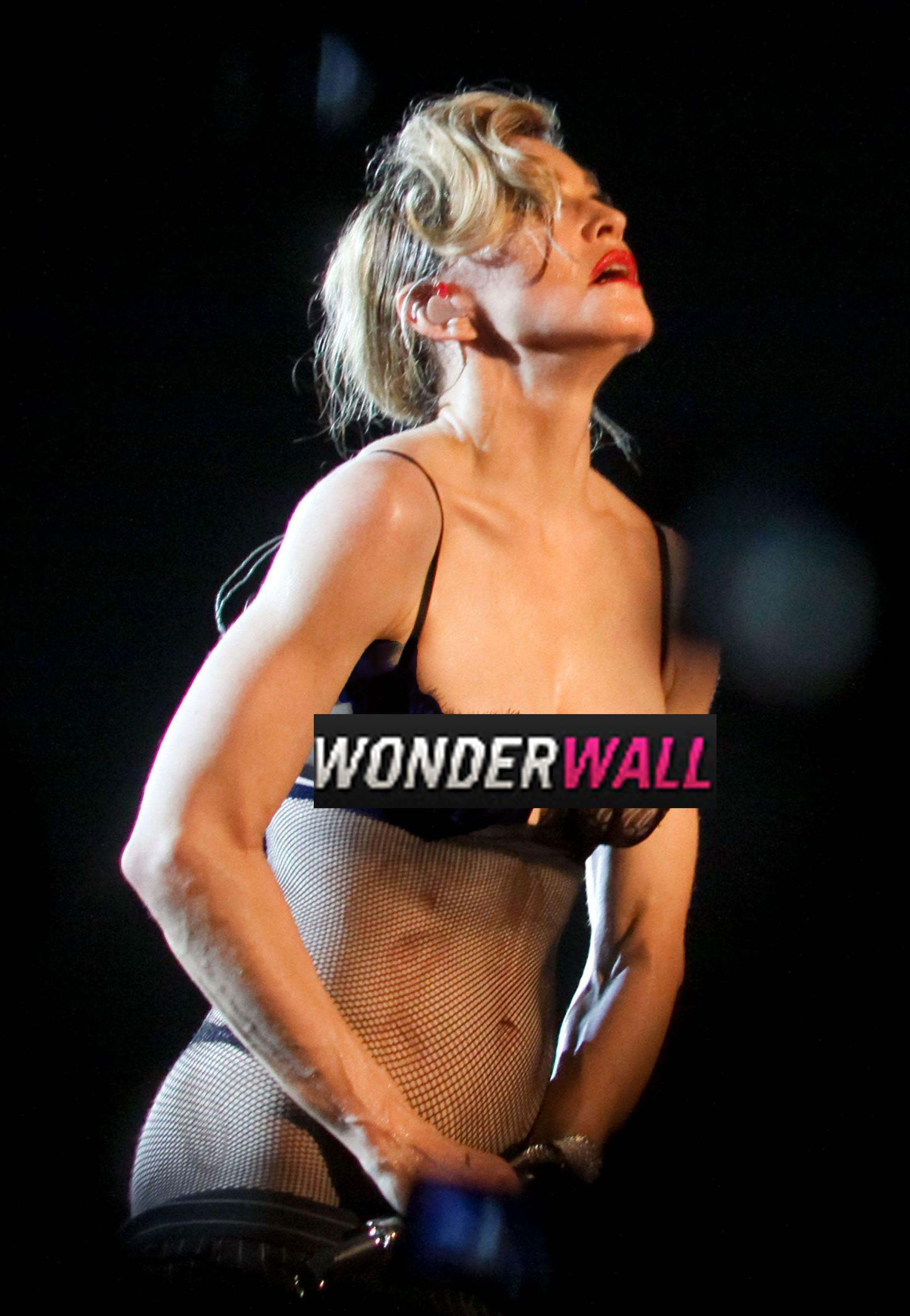 Madonna racy pics Instagram warning