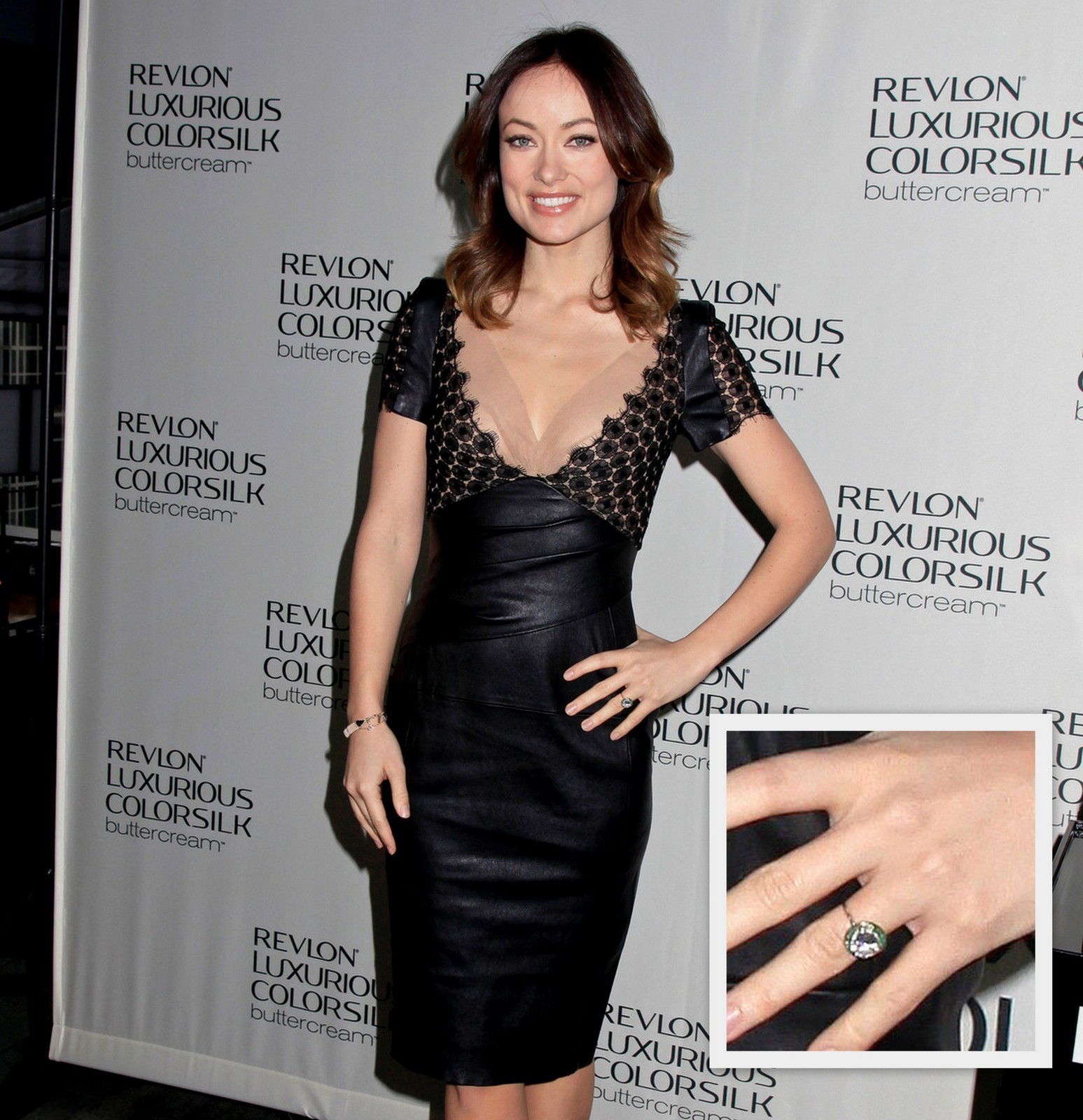 Olivia Wilde engagement ring Jason Sudeikis