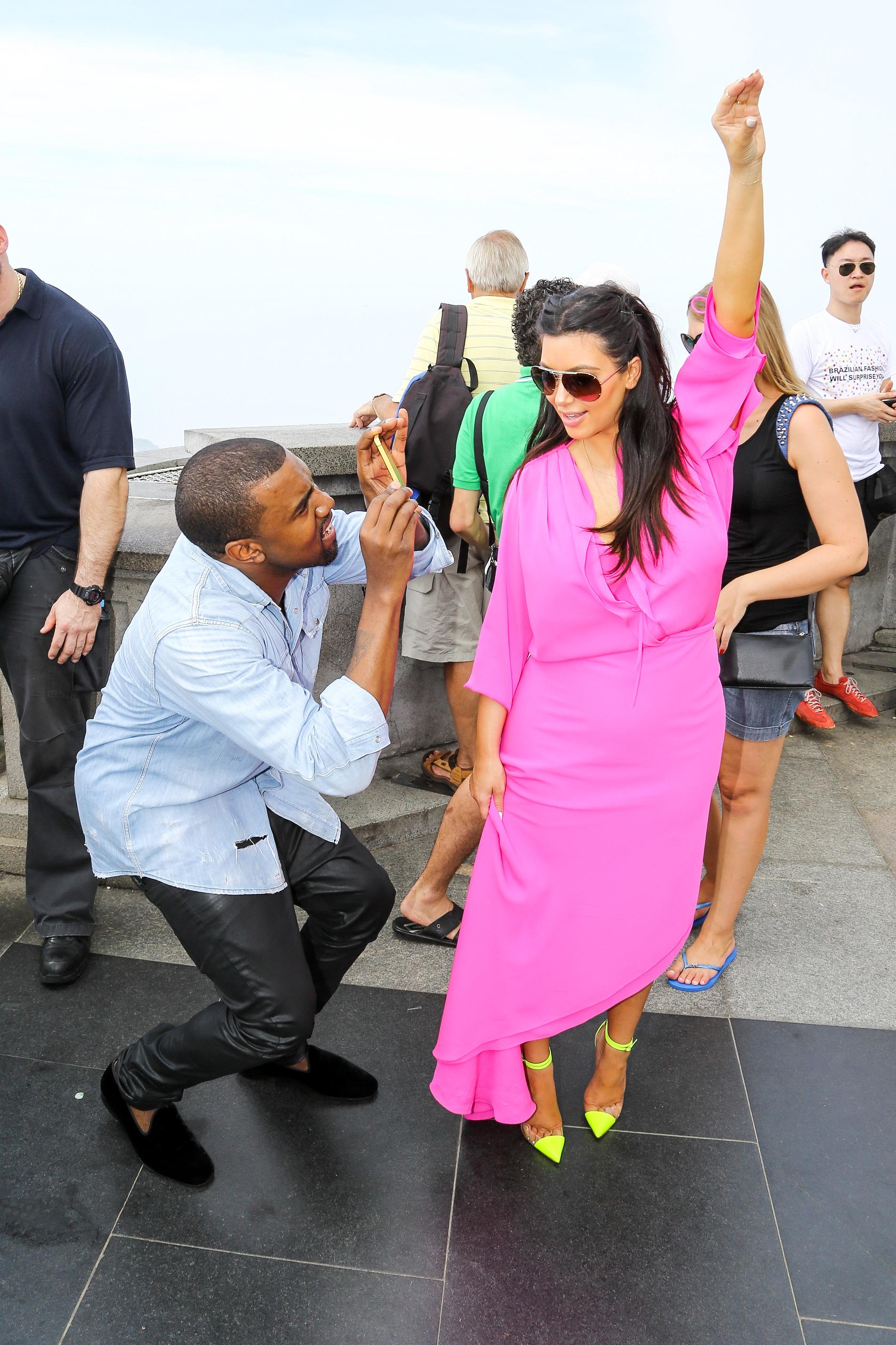 kim kardashian kanye west brazil babymoon