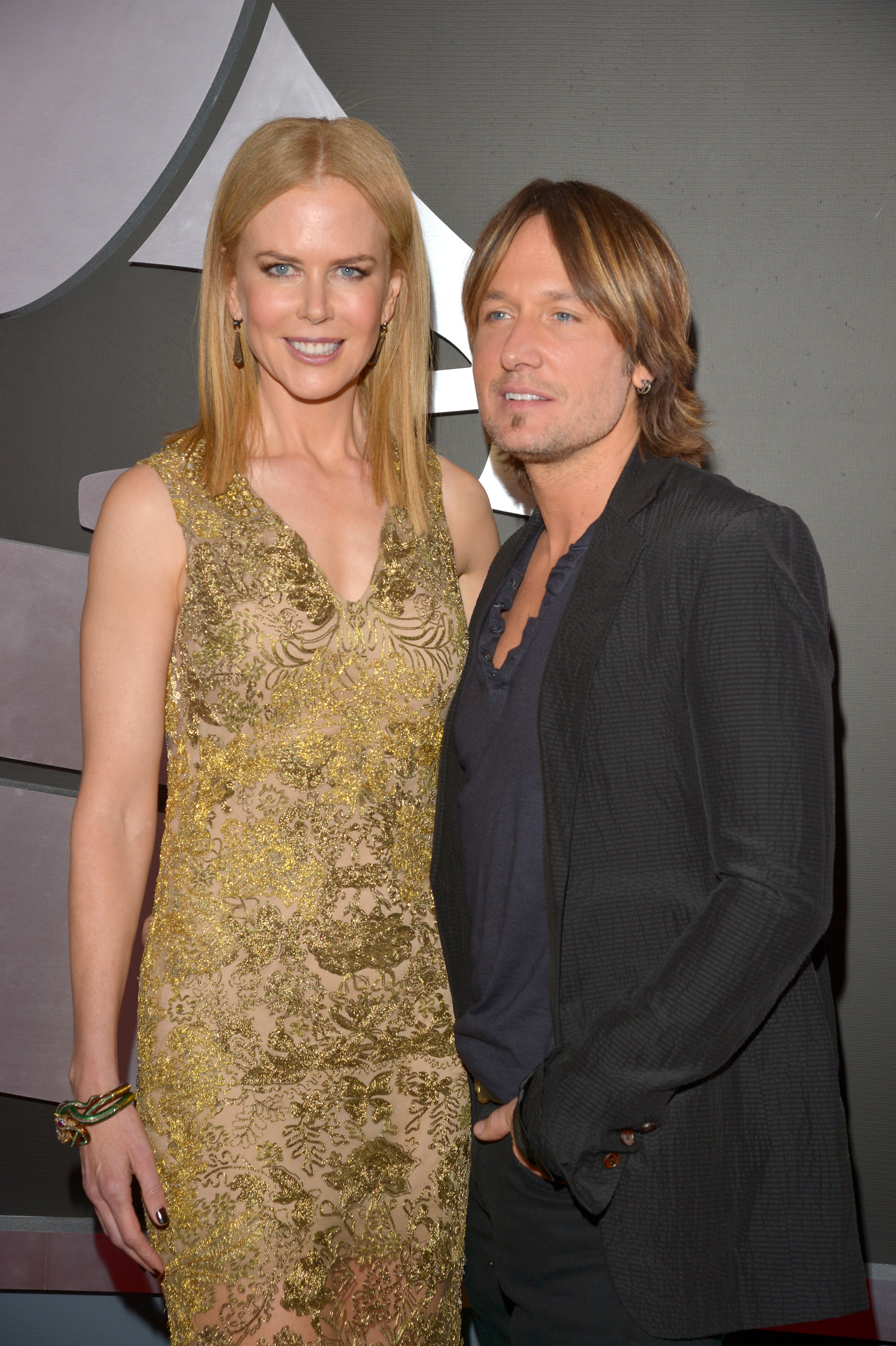 Nicole Kidman Keith Urban 2013 Grammy Awards