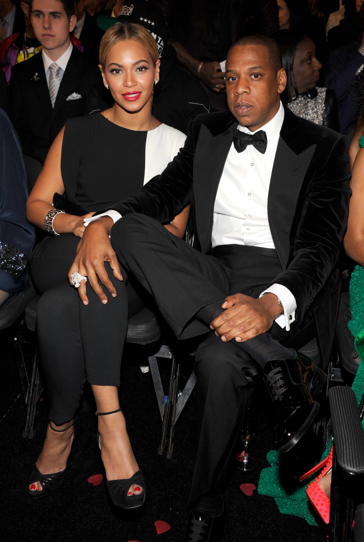 Beyonce and Jay Z 2013 Grammy Awards