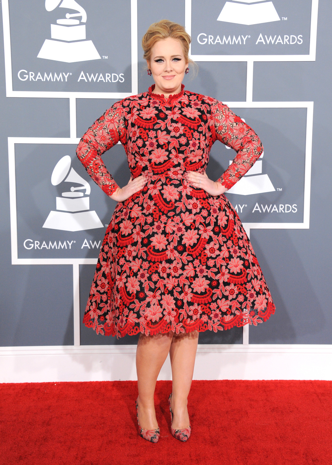 Adele Grammys Valentino
