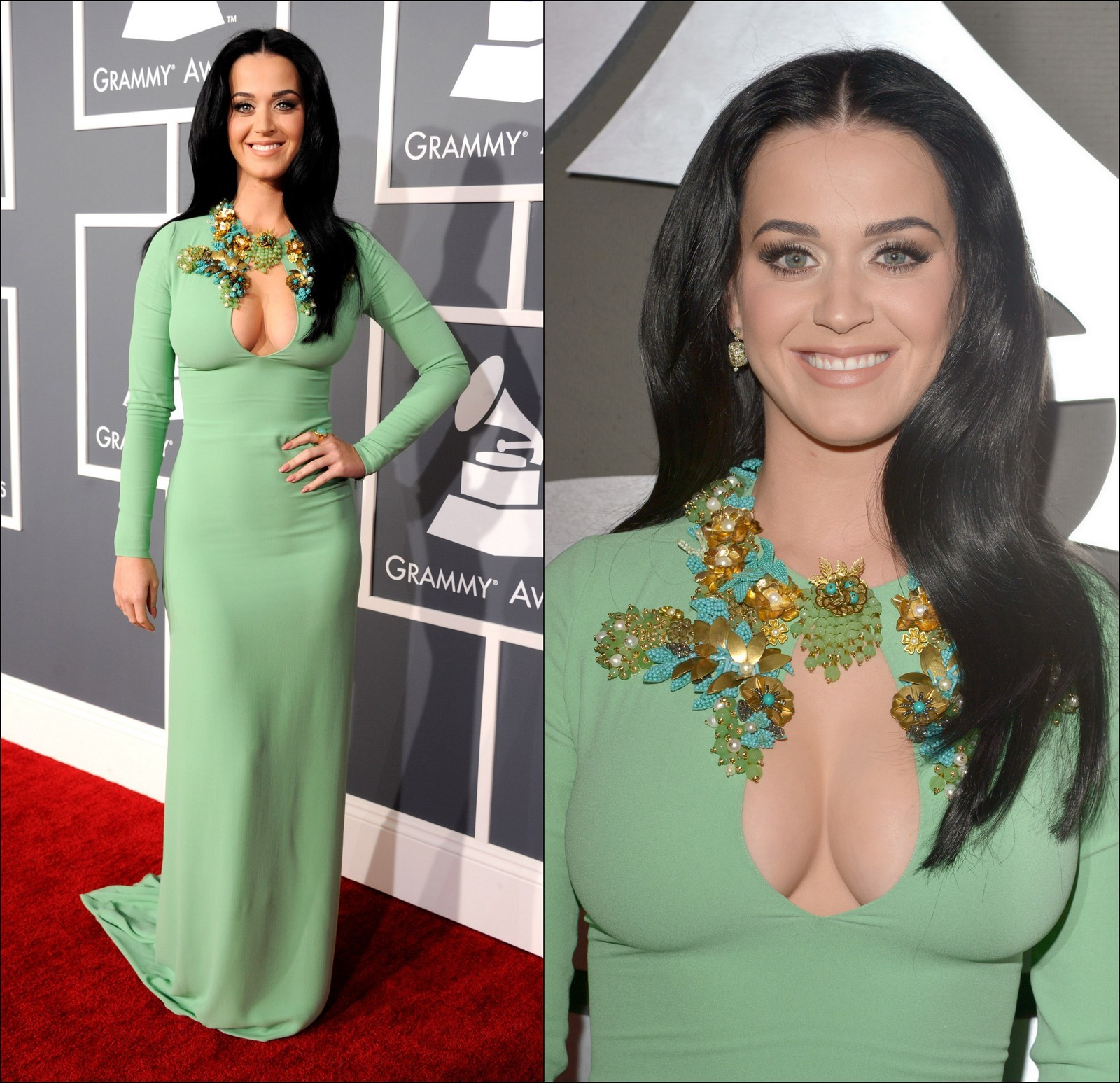 Katy Perry Grammy cleavage
