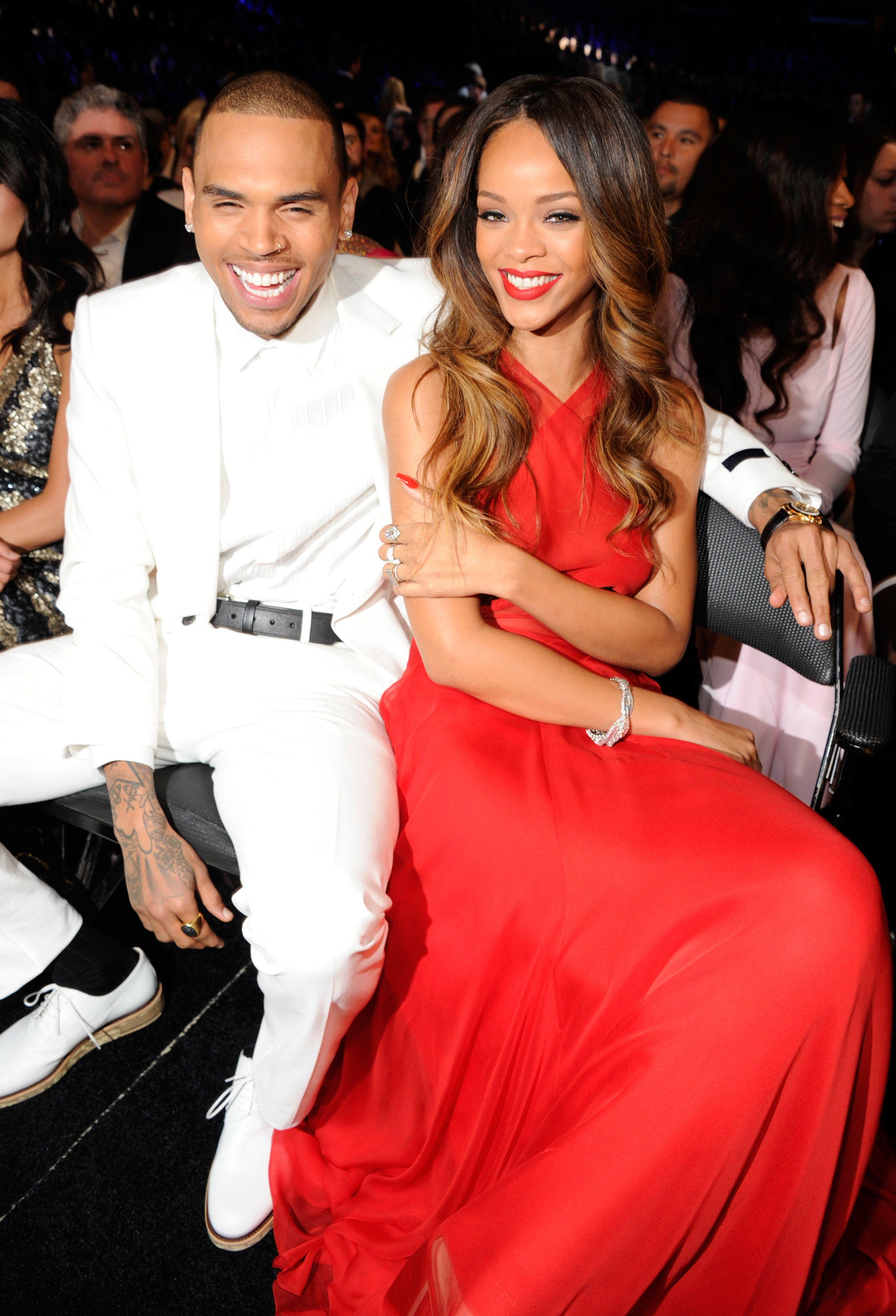 chris brown rihanna grammy 2013