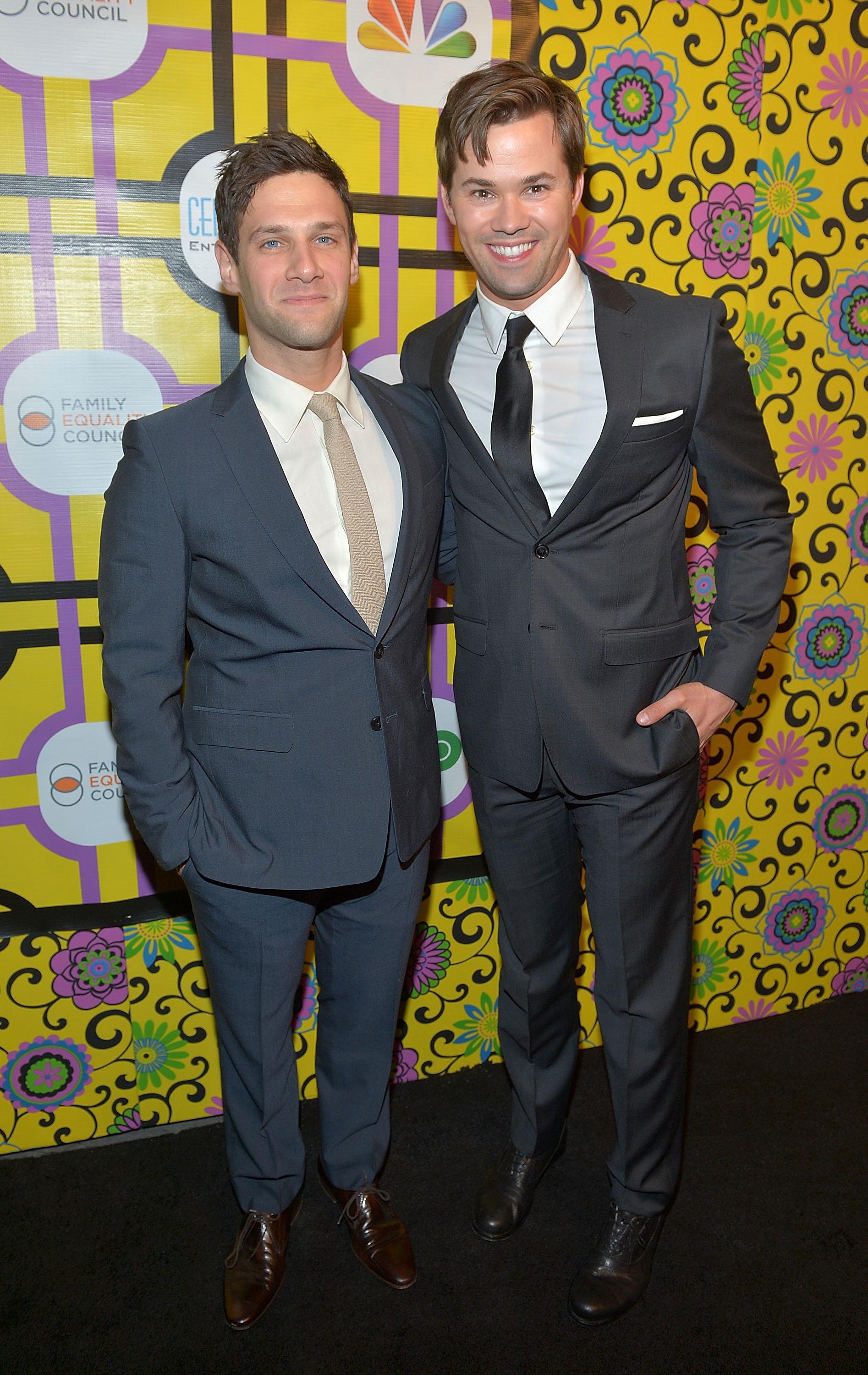 Andrew Rannells Justin Bartha The New Normal red carpet