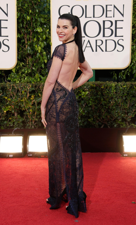 Julianna Margulies backless dress