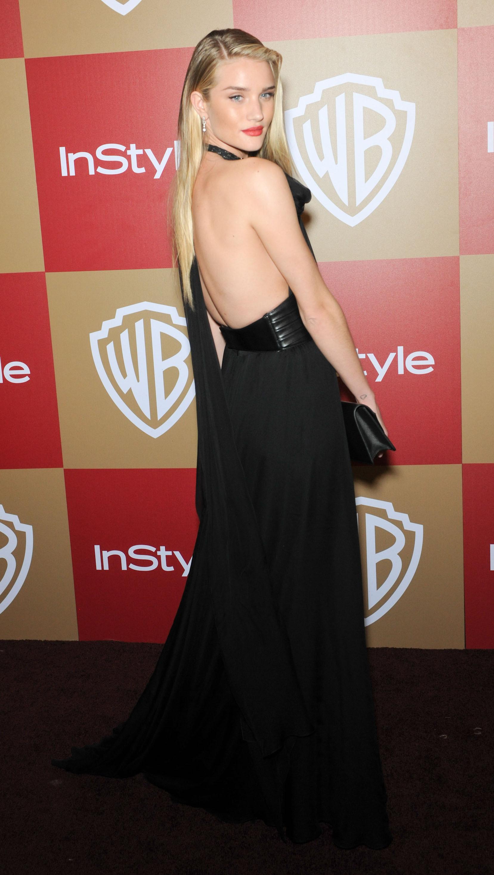 Rosie Huntington Whiteley dress
