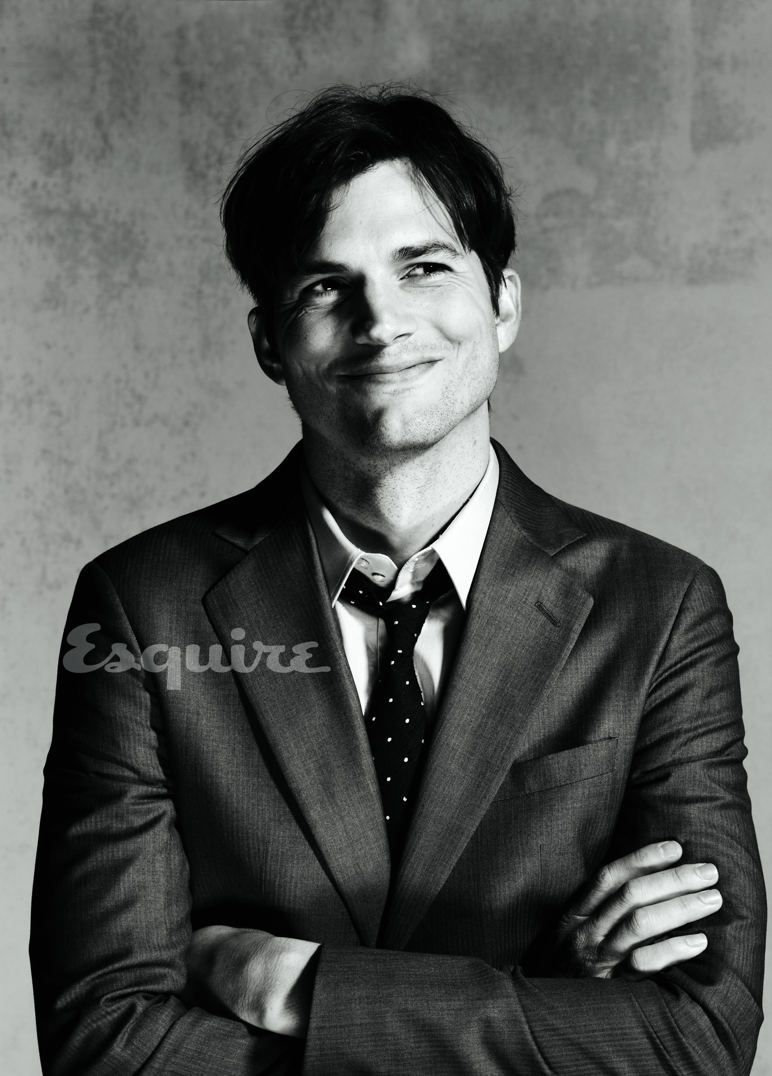 Ashton Kutcher Esquire