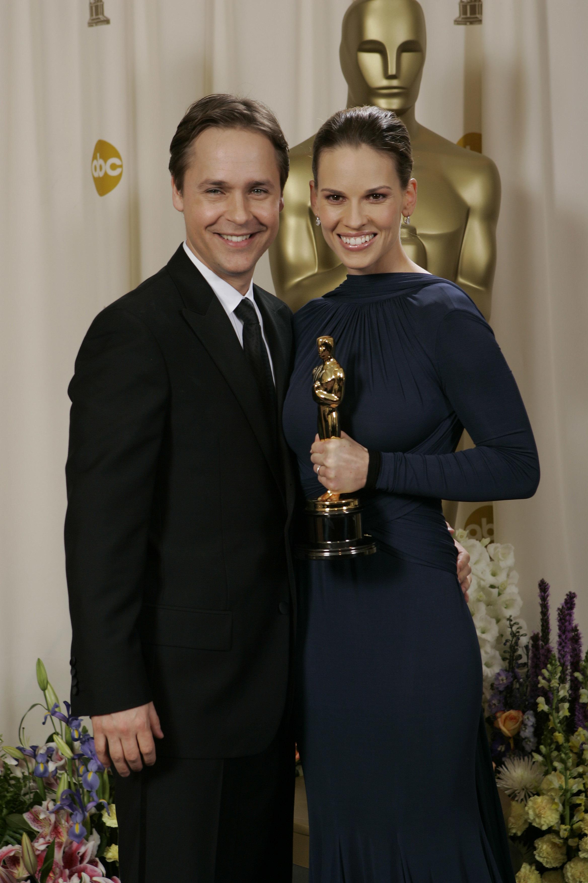 Chad Lowe Hilary Swank Oscars 2005