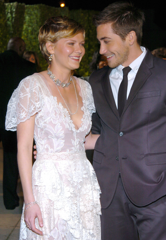Kirsten Dunst Jake Gyllenhaal 2004 Oscars Vanity Fair